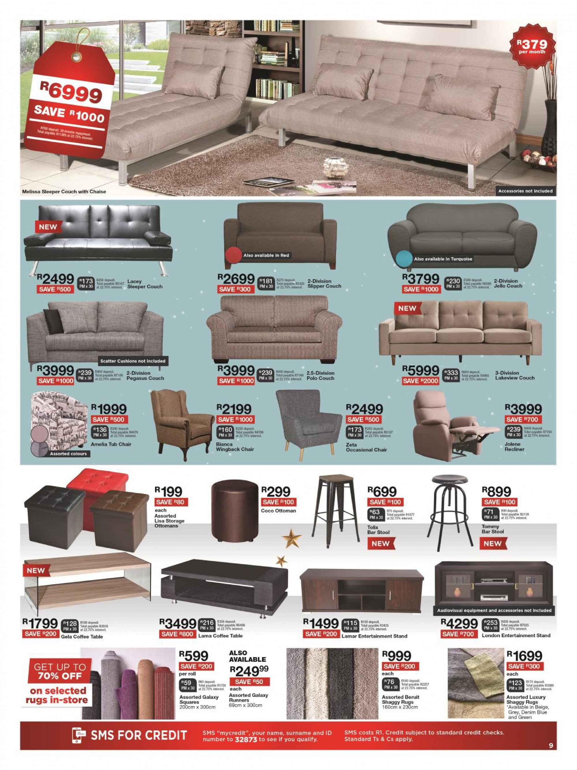 House & Home catalogue  - 12.10.2018 - 12.24.2018. Page 9.