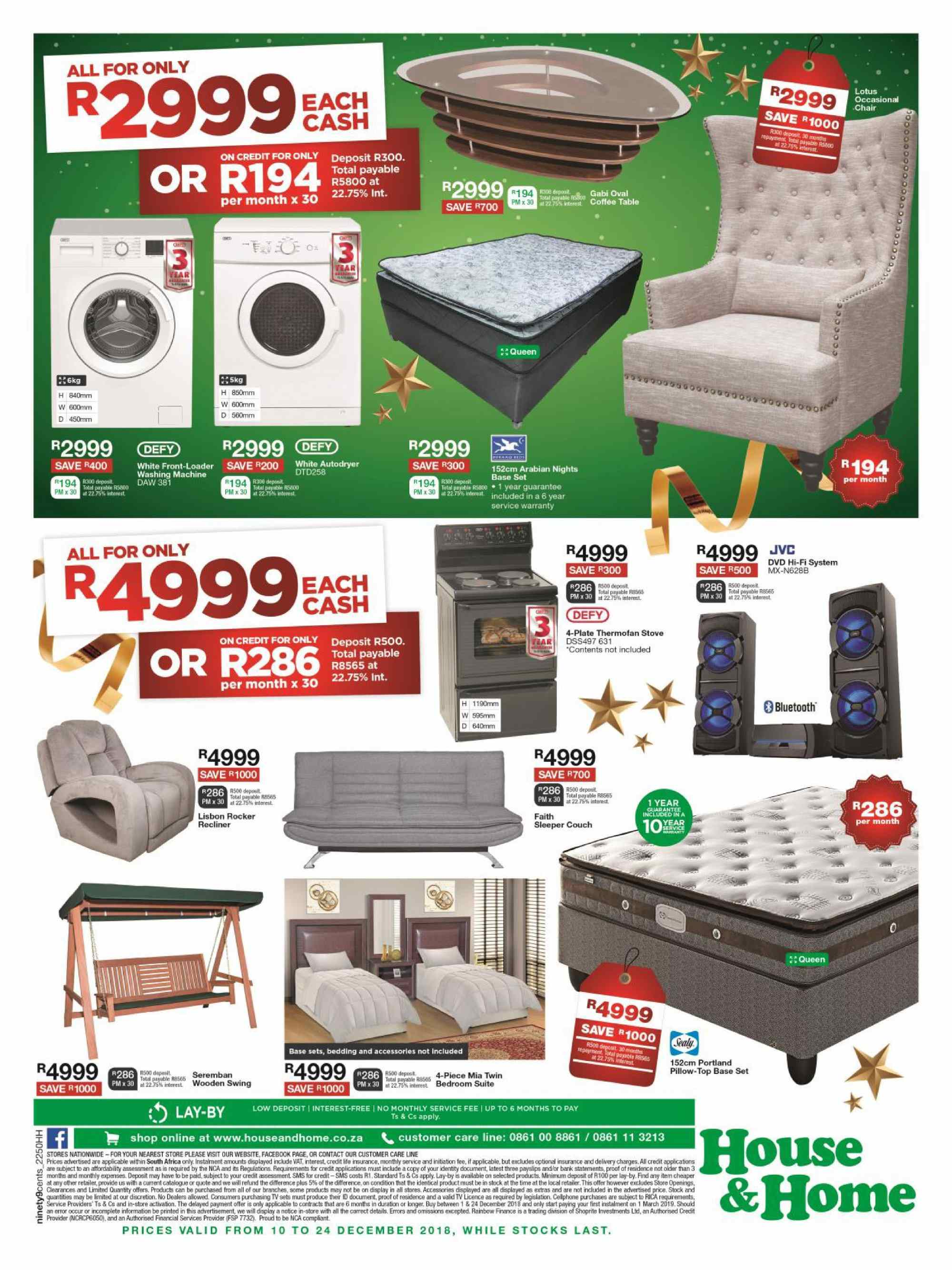 House & Home catalogue  - 12.10.2018 - 12.24.2018. Page 12.