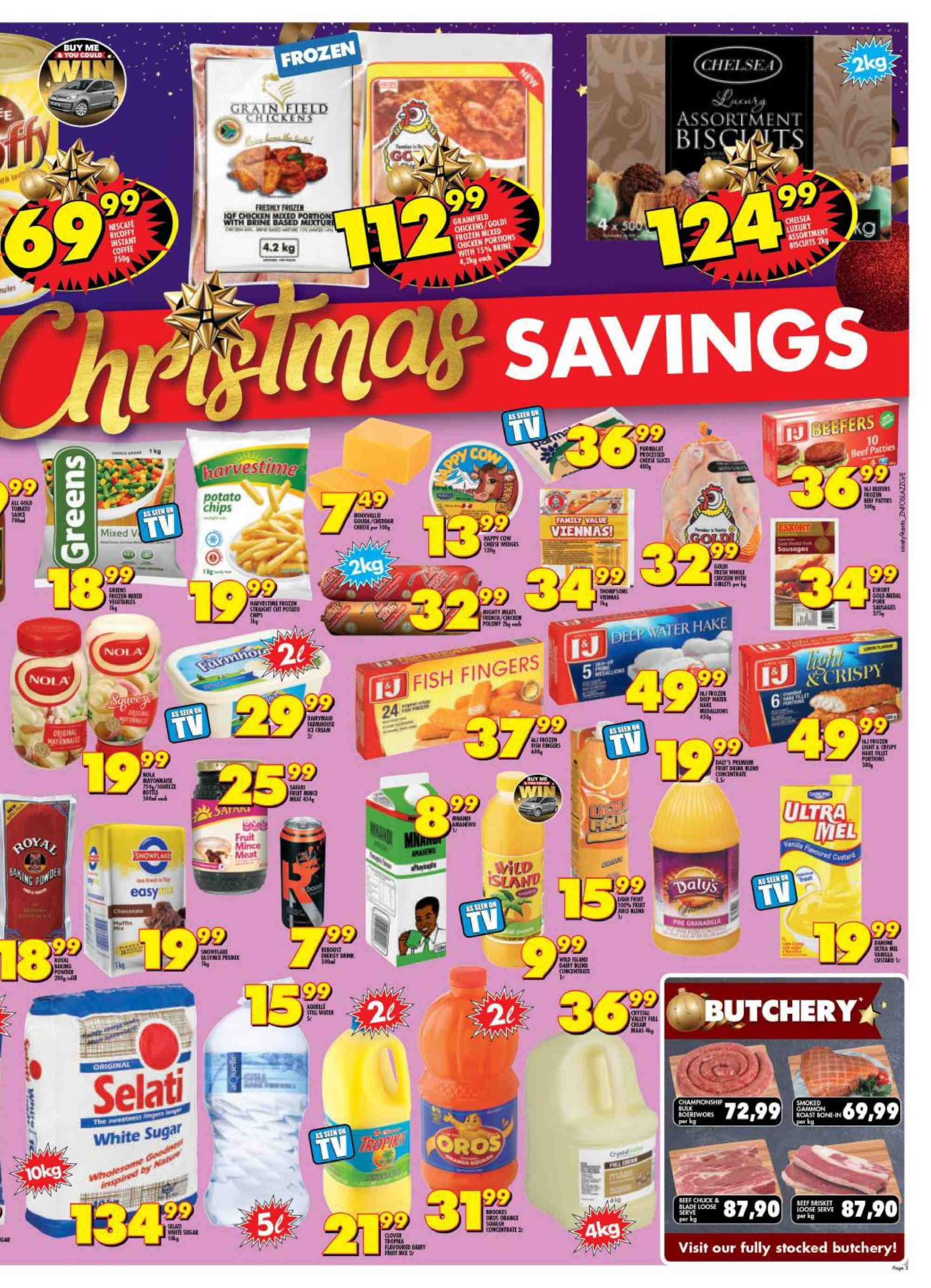 Shoprite catalogue  - 12.10.2018 - 12.25.2018. Page 3.