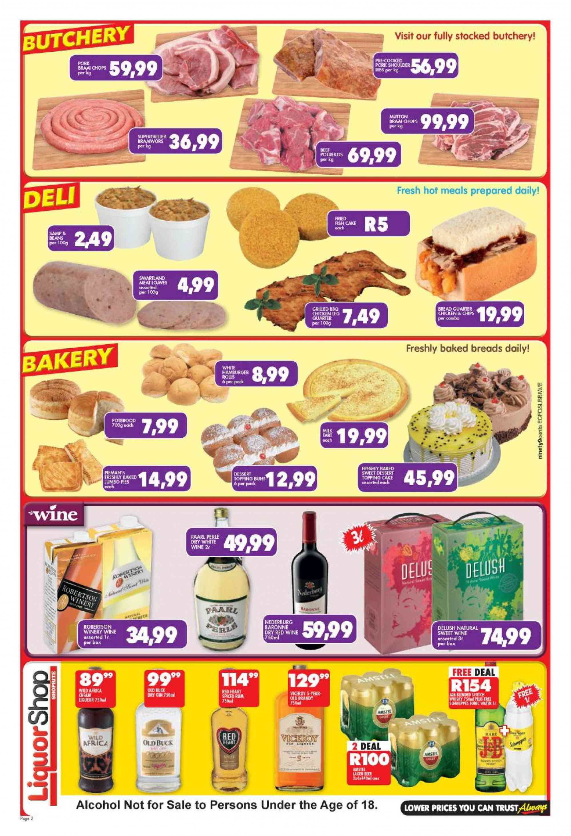 Shoprite catalogue  - 01.21.2019 - 02.10.2019. Page 2.