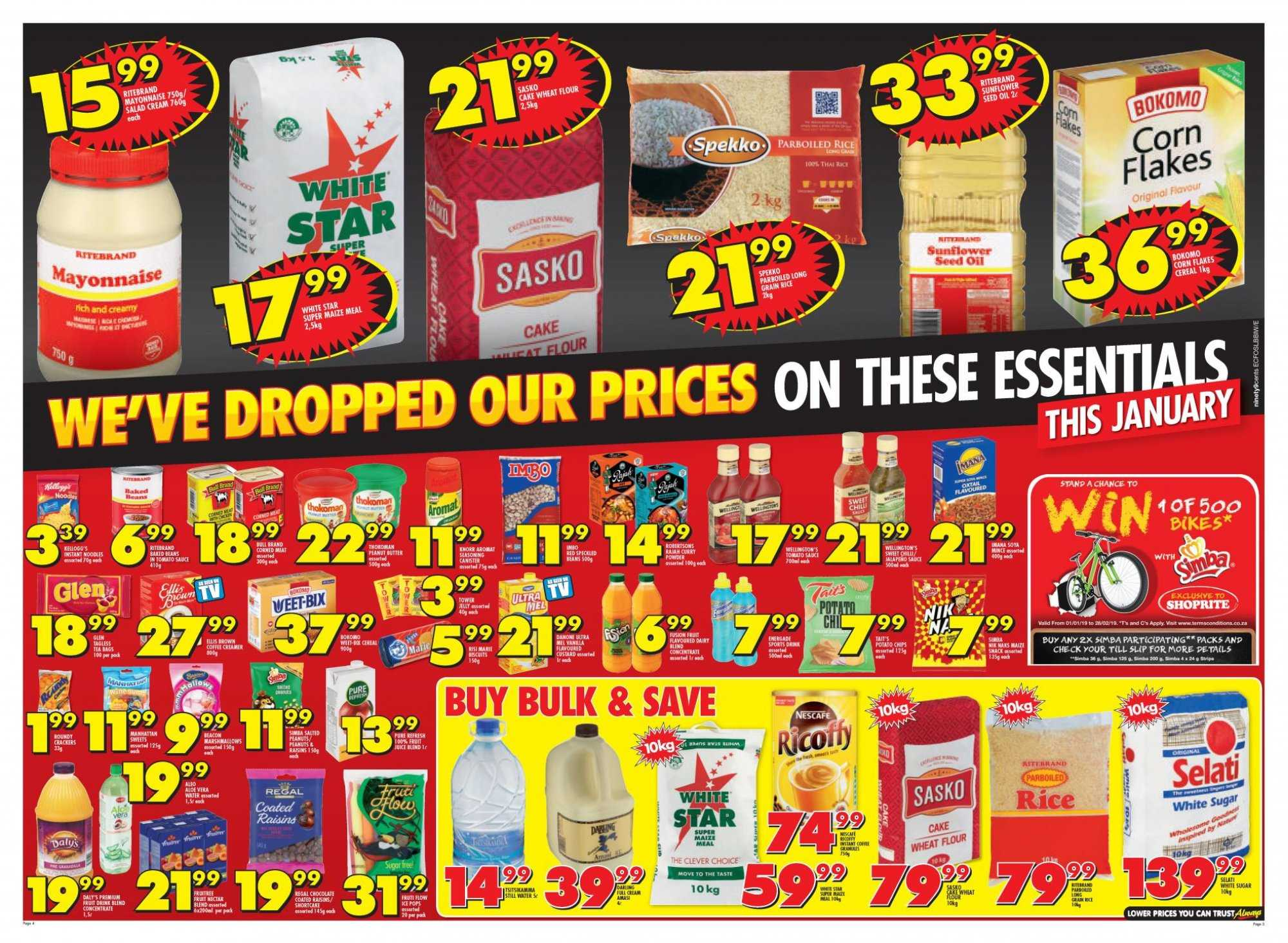 Shoprite catalogue  - 01.21.2019 - 02.10.2019. Page 4.