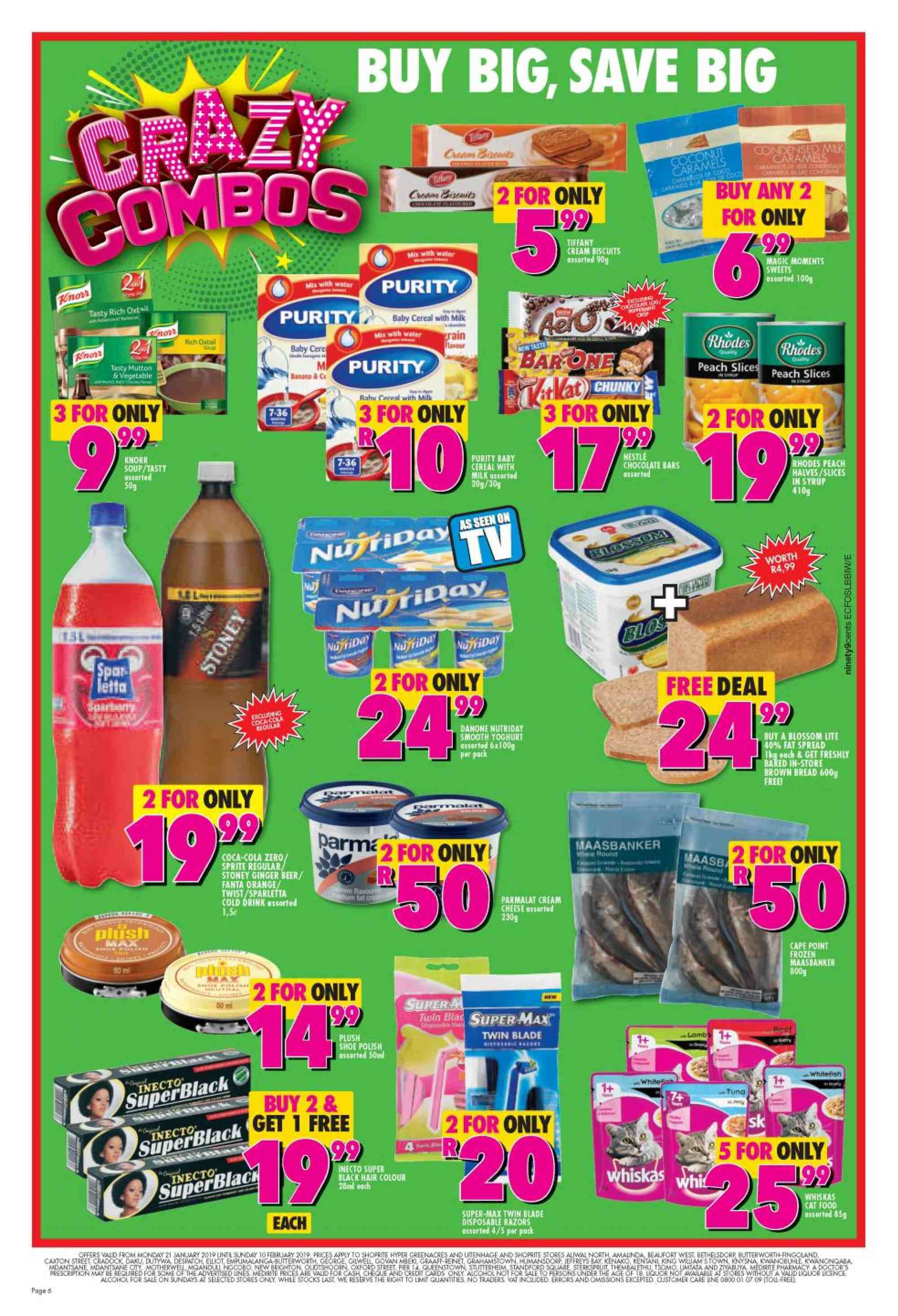Shoprite catalogue  - 01.21.2019 - 02.10.2019. Page 5.