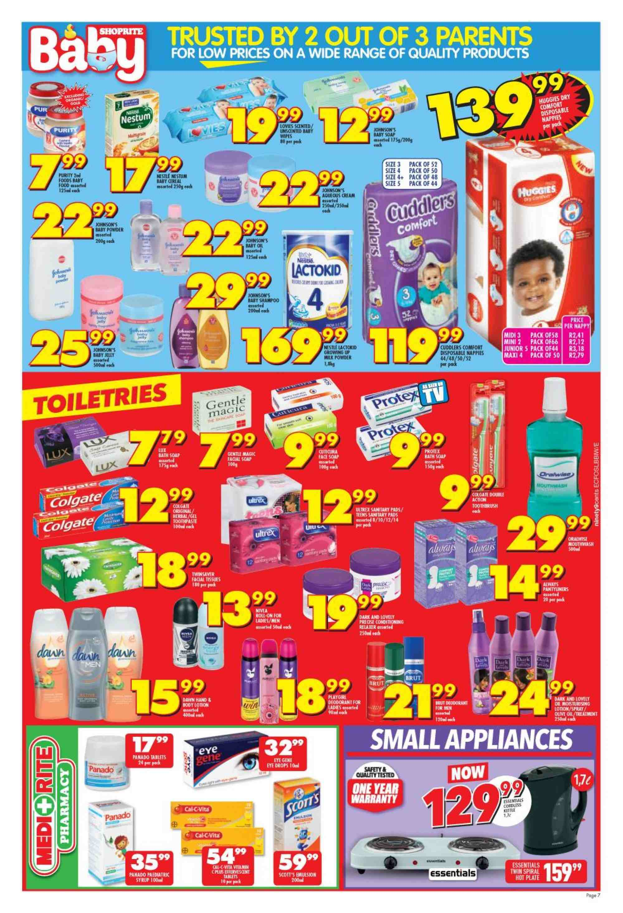 Shoprite catalogue  - 01.21.2019 - 02.10.2019. Page 6.