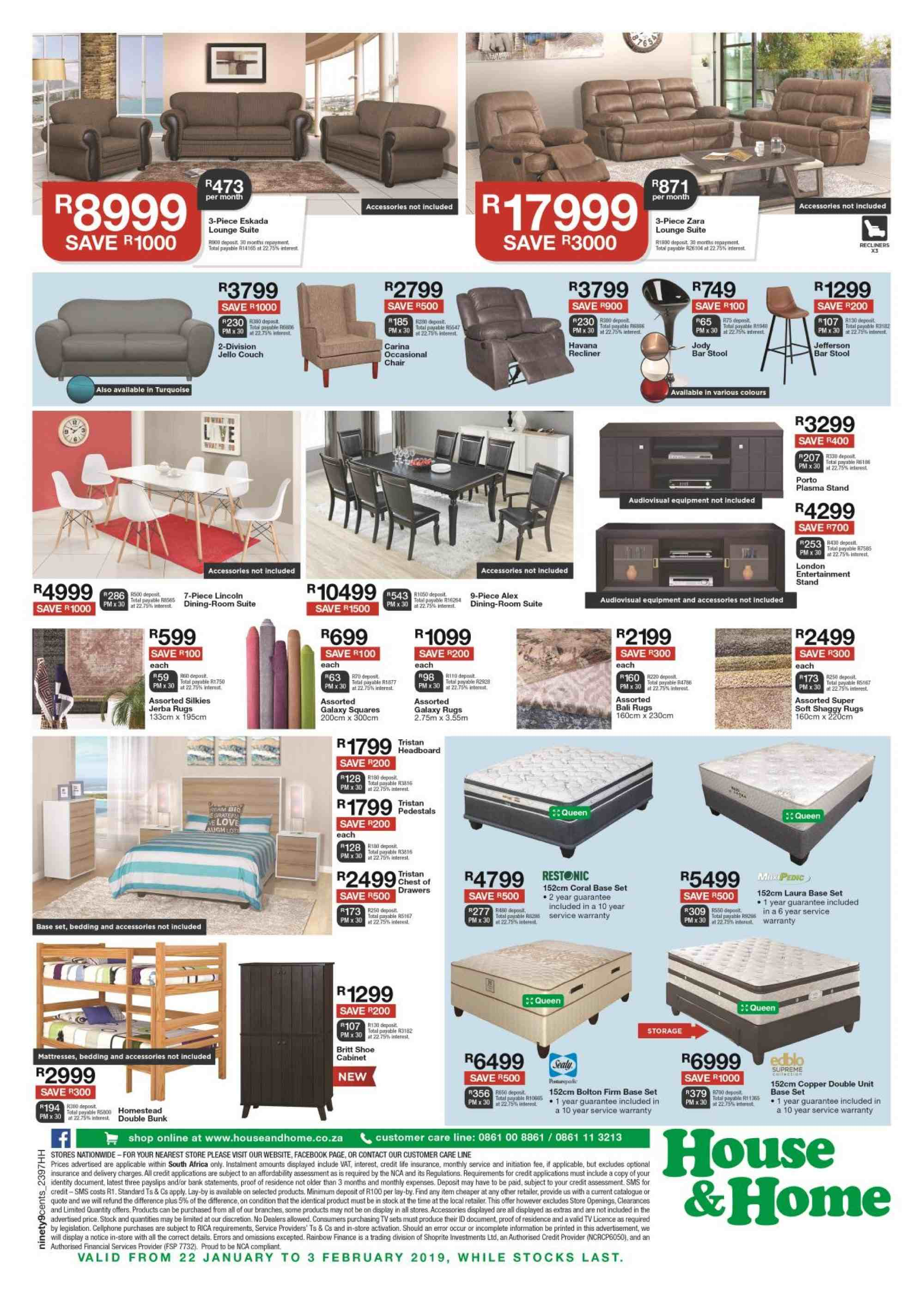 House & Home catalogue  - 01.22.2019 - 02.03.2019. Page 4.