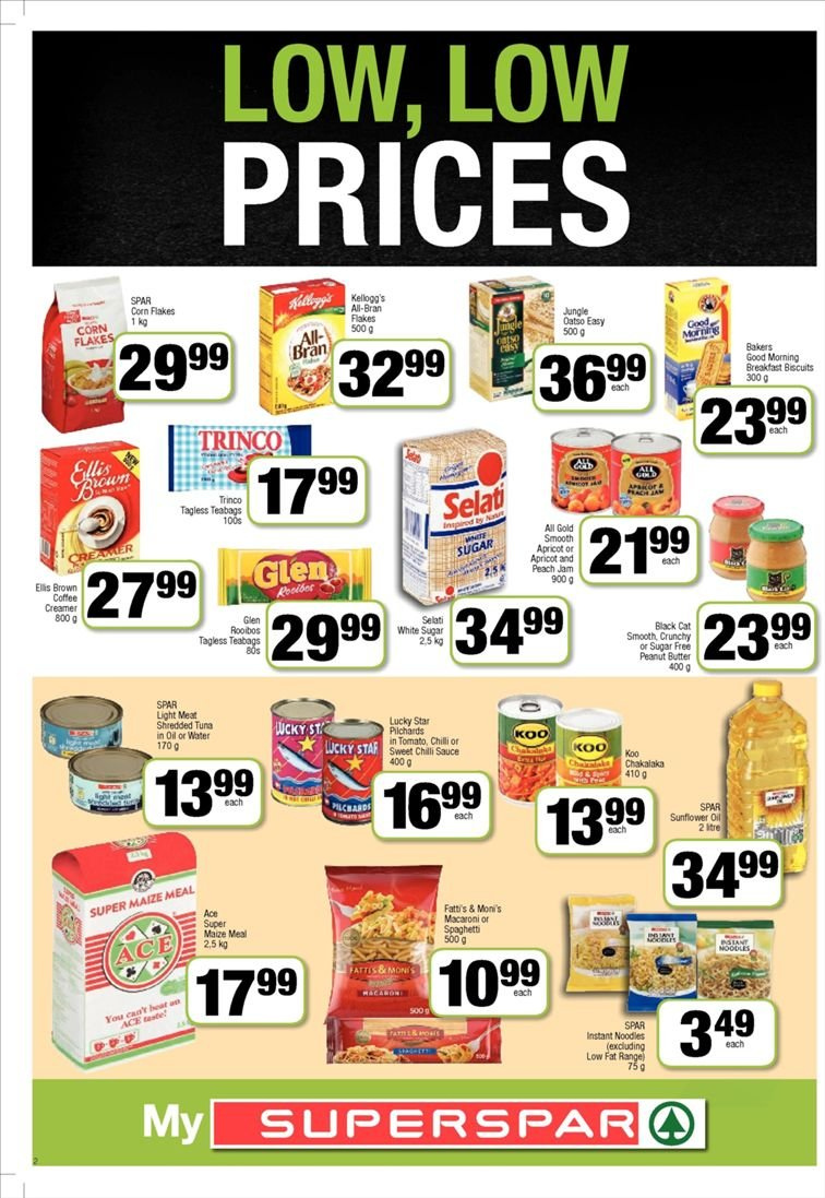 SPAR catalogue  - 01.22.2019 - 02.03.2019. Page 2.
