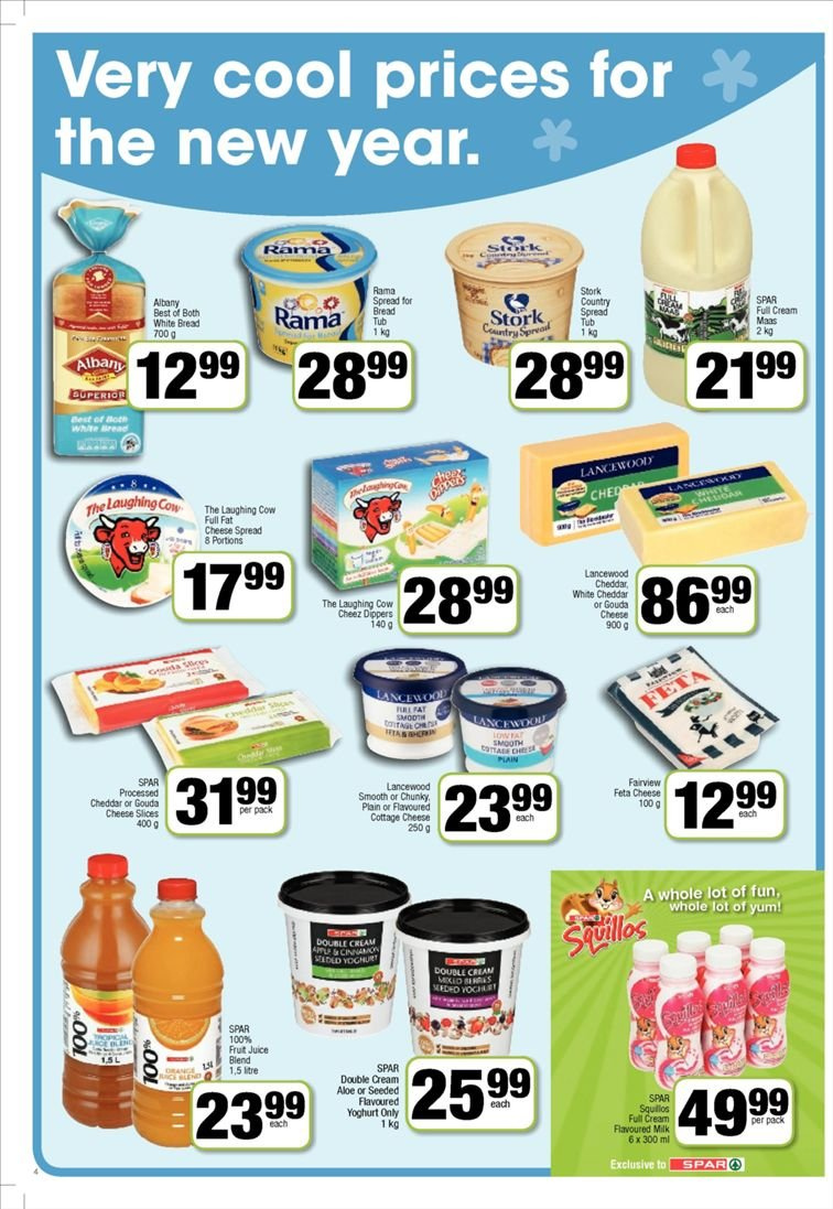 SPAR catalogue  - 01.22.2019 - 02.03.2019. Page 4.