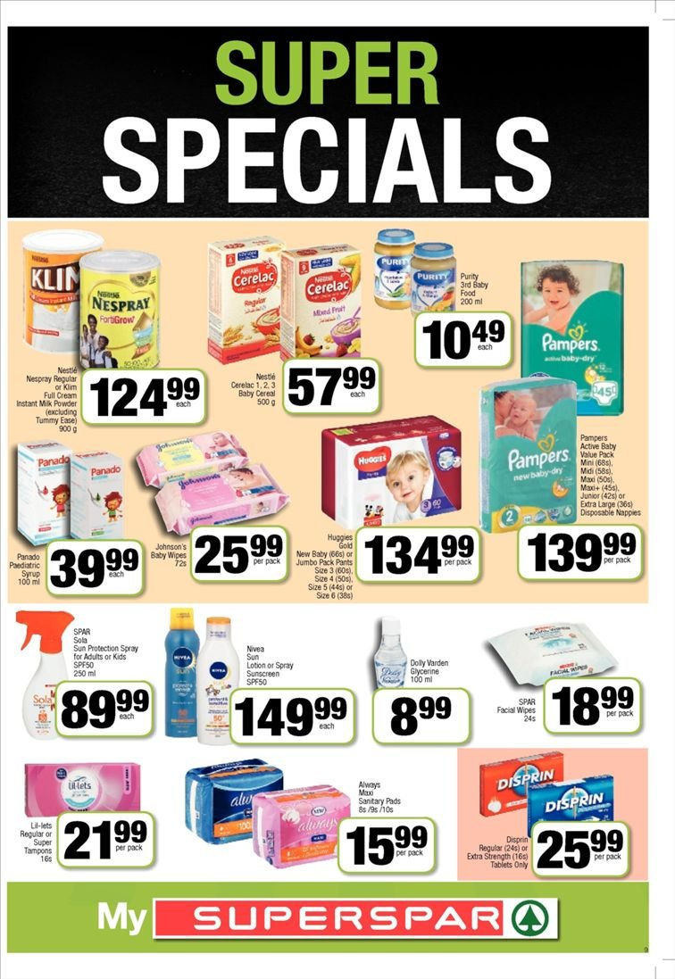 SPAR catalogue  - 01.22.2019 - 02.03.2019. Page 9.