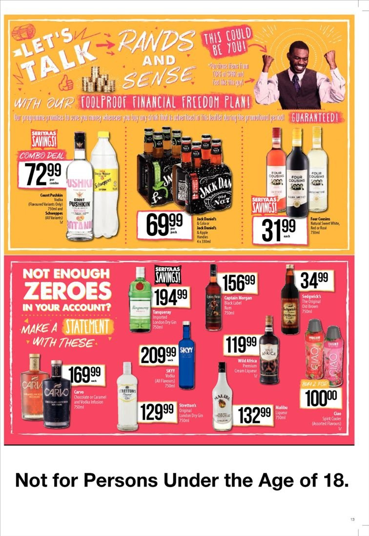 SPAR catalogue  - 01.22.2019 - 02.03.2019. Page 13.