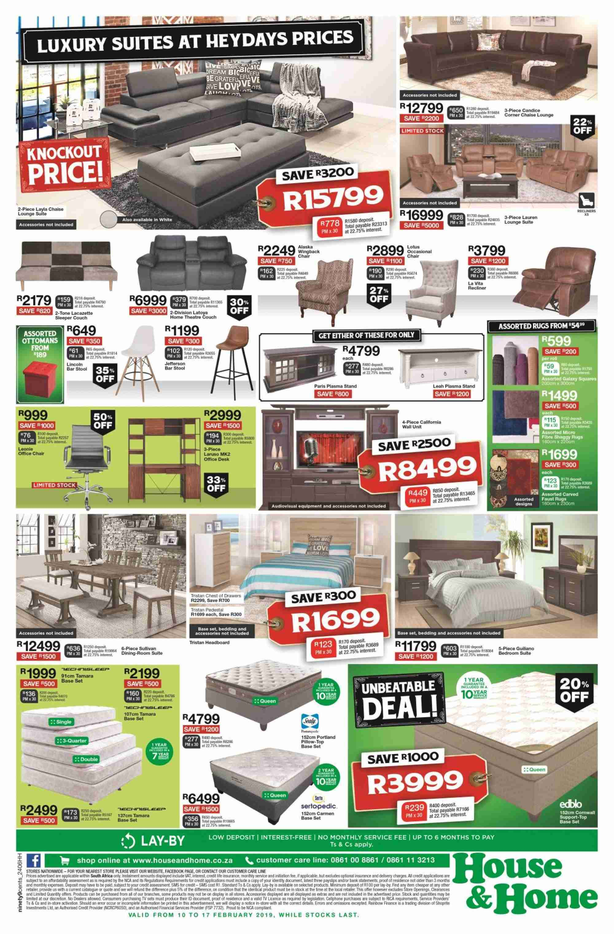 House & Home catalogue  - 02.10.2019 - 02.17.2019. Page 4.