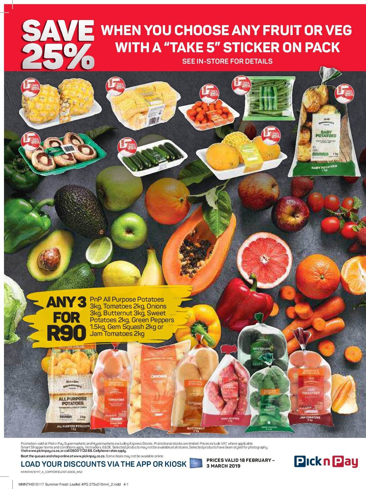 Pick n Pay catalogue  - 02.18.2019 - 03.03.2019. Page 4.
