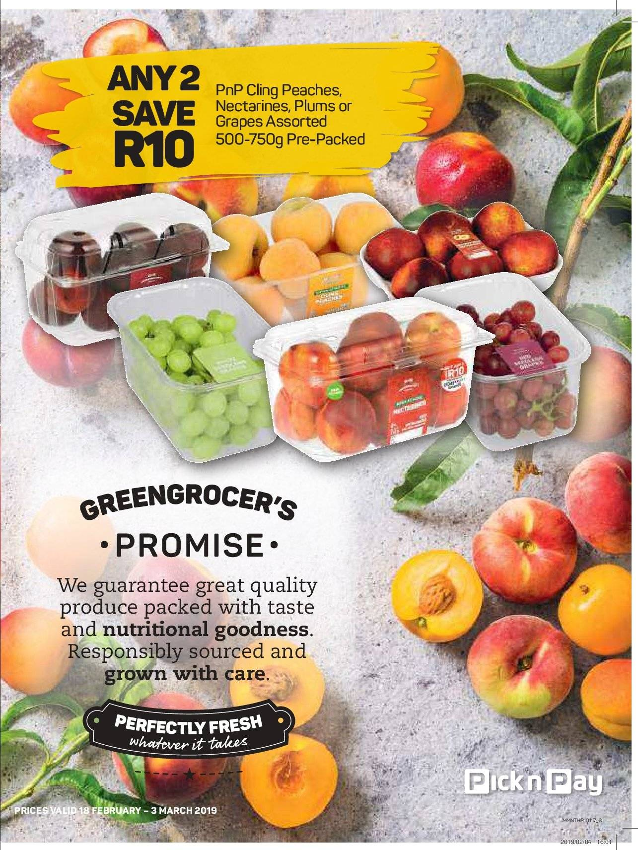 Pick n Pay catalogue  - 02.18.2019 - 03.03.2019. Page 3.