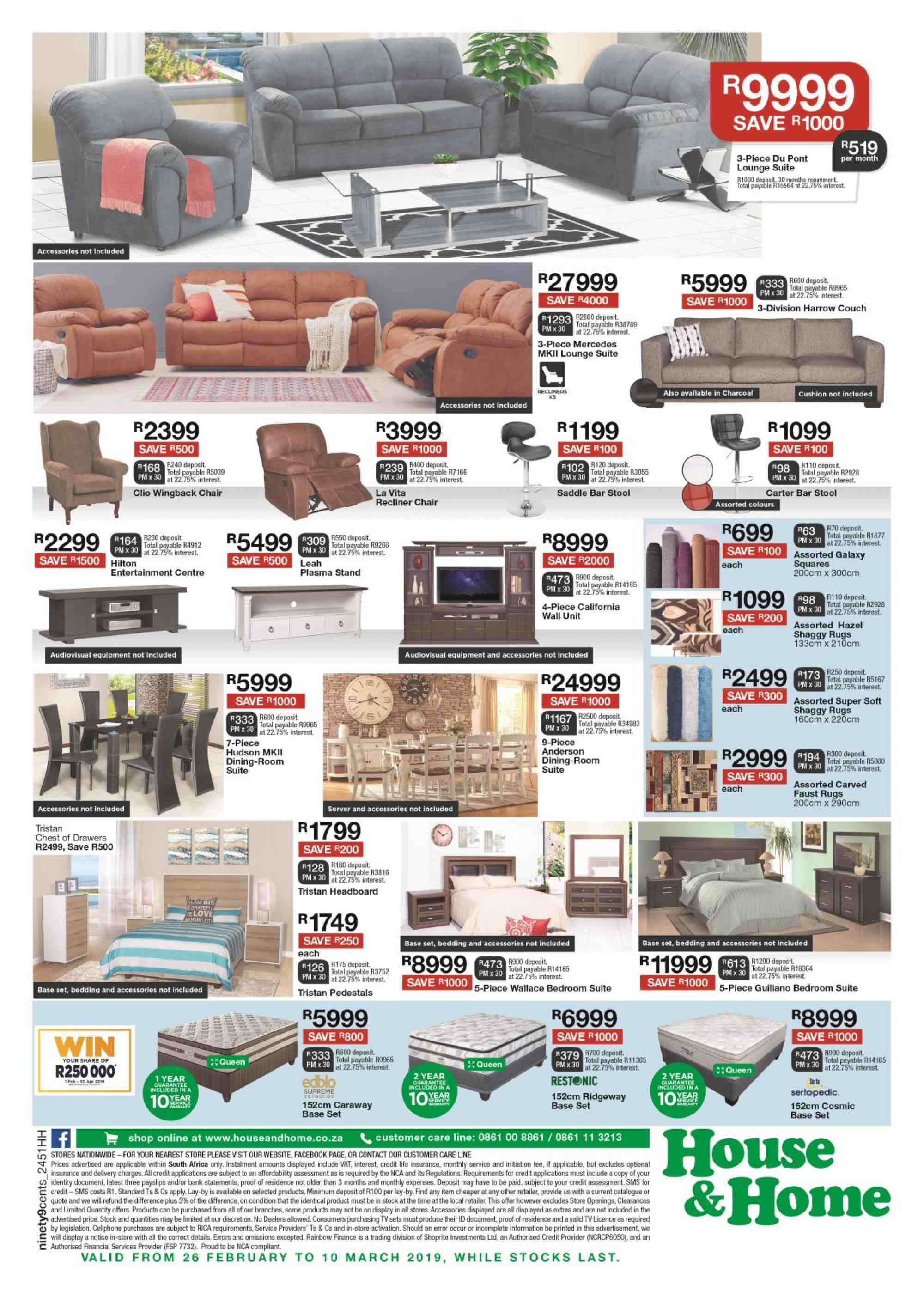 House & Home catalogue  - 02.26.2019 - 03.10.2019. Page 4.