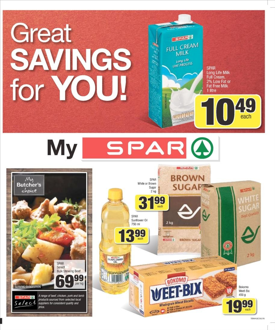 SPAR catalogue  - 03.04.2019 - 03.10.2019. Page 1.