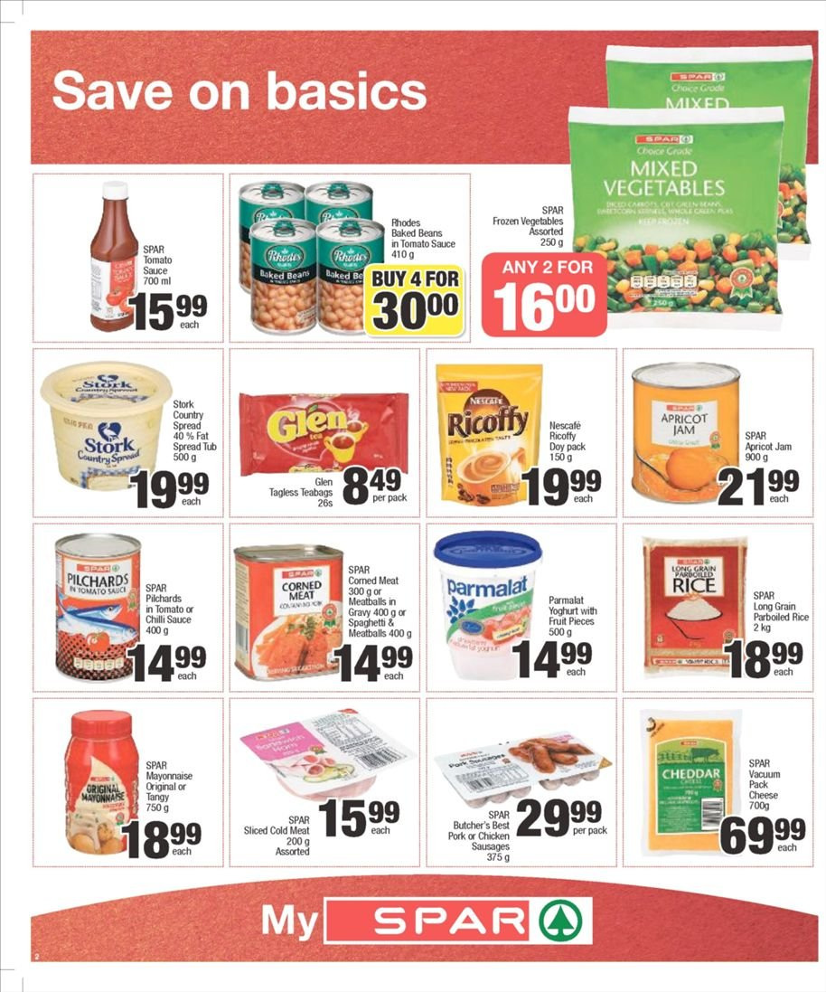 SPAR catalogue  - 03.04.2019 - 03.10.2019. Page 2.