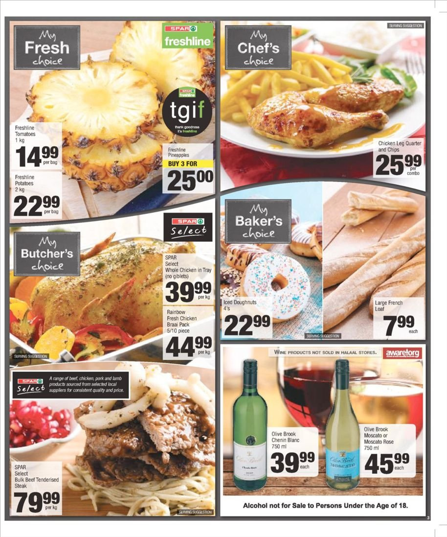 SPAR catalogue  - 03.04.2019 - 03.10.2019. Page 3.