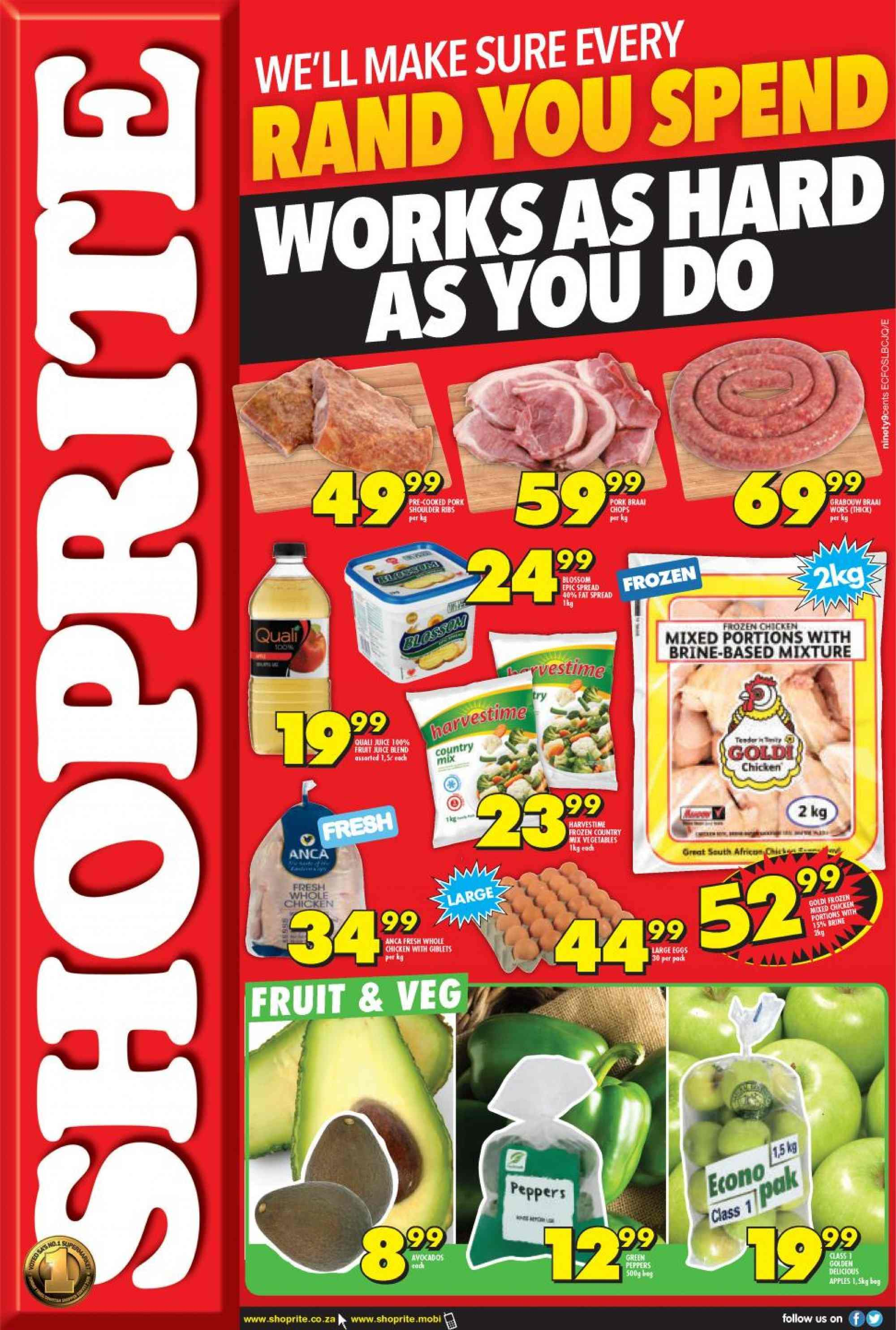 Shoprite catalogue  - 03.06.2019 - 03.10.2019. Page 1.