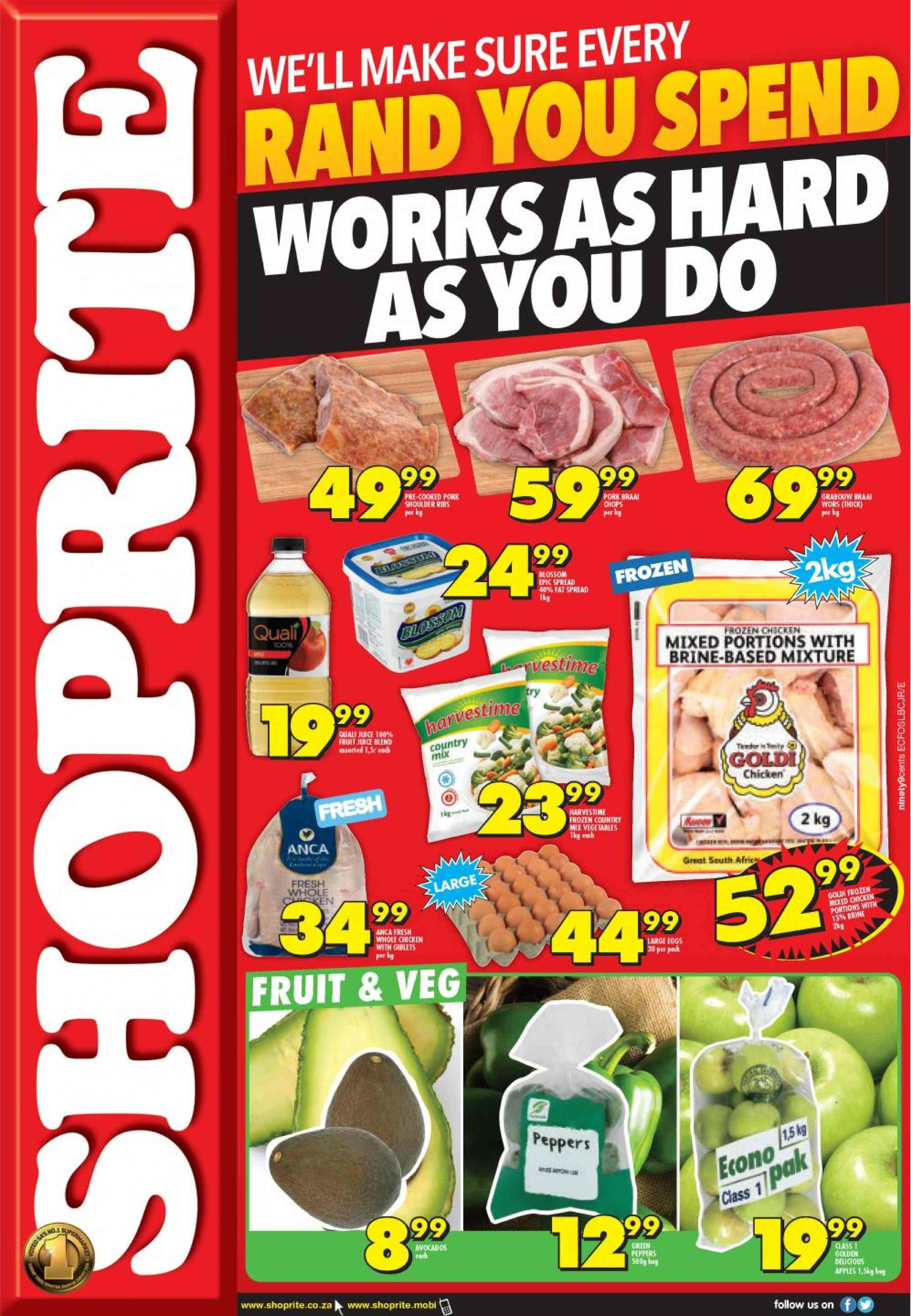 Shoprite catalogue  - 03.07.2019 - 03.10.2019. Page 1.