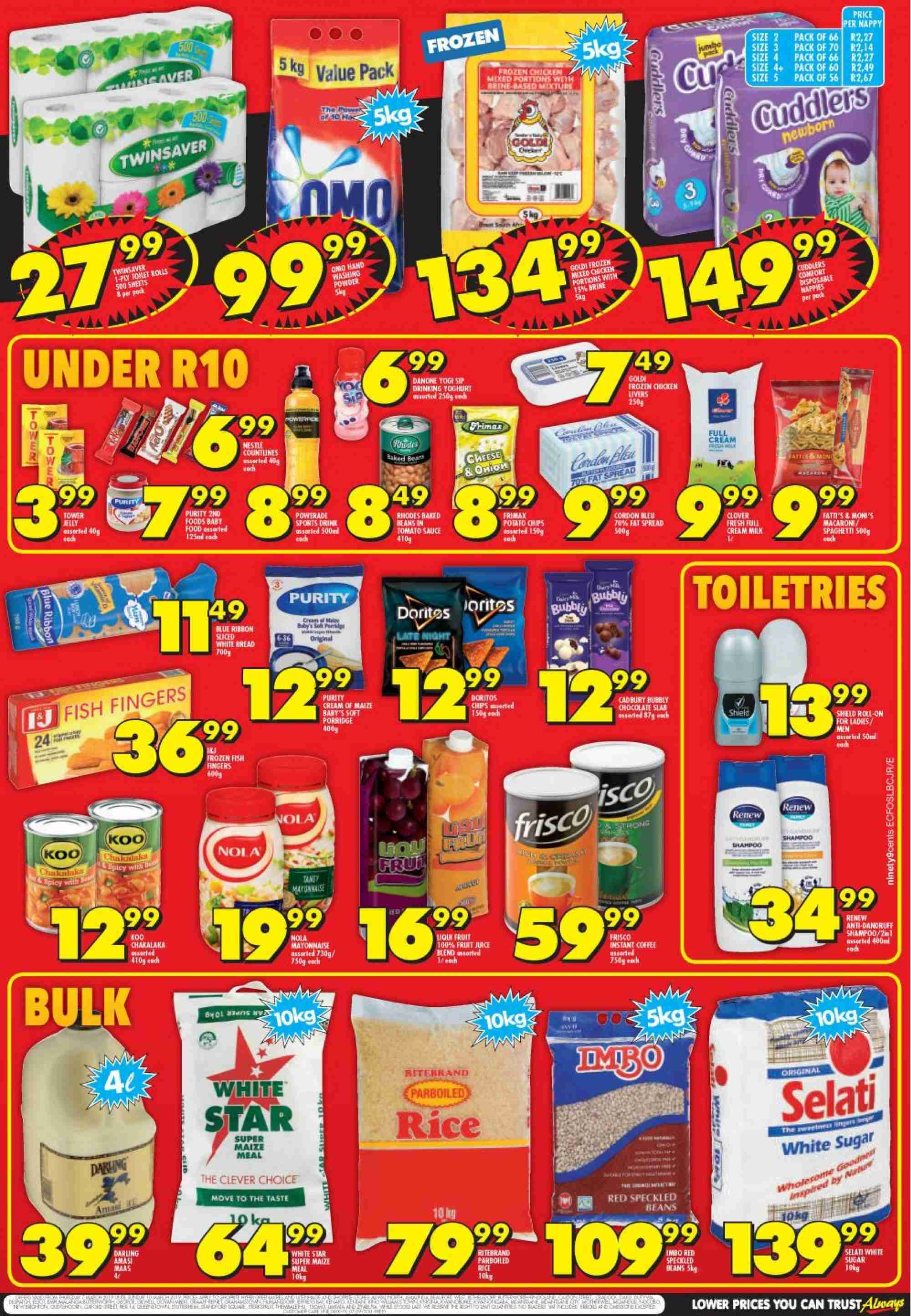 Shoprite catalogue  - 03.07.2019 - 03.10.2019. Page 2.