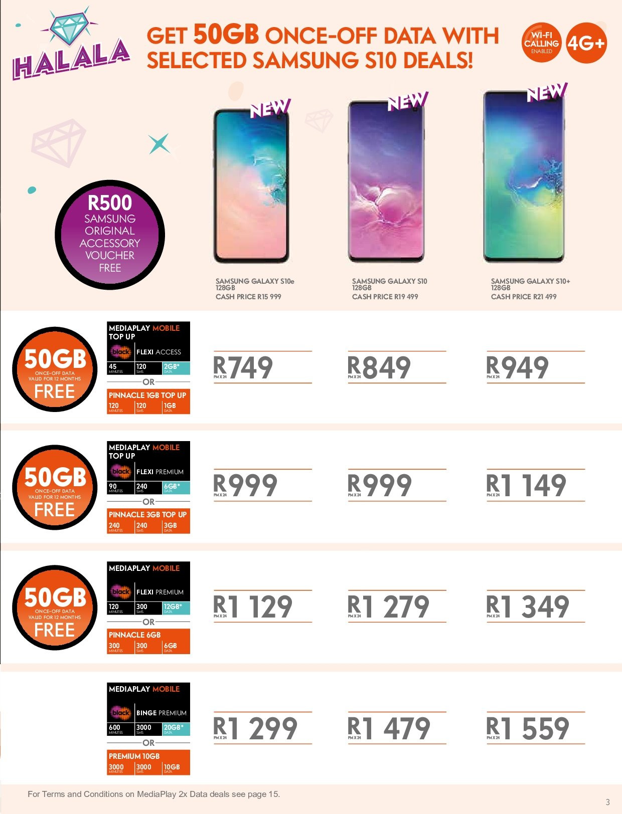 Cell C catalogue  - 03.14.2019 - 04.24.2019. Page 3.