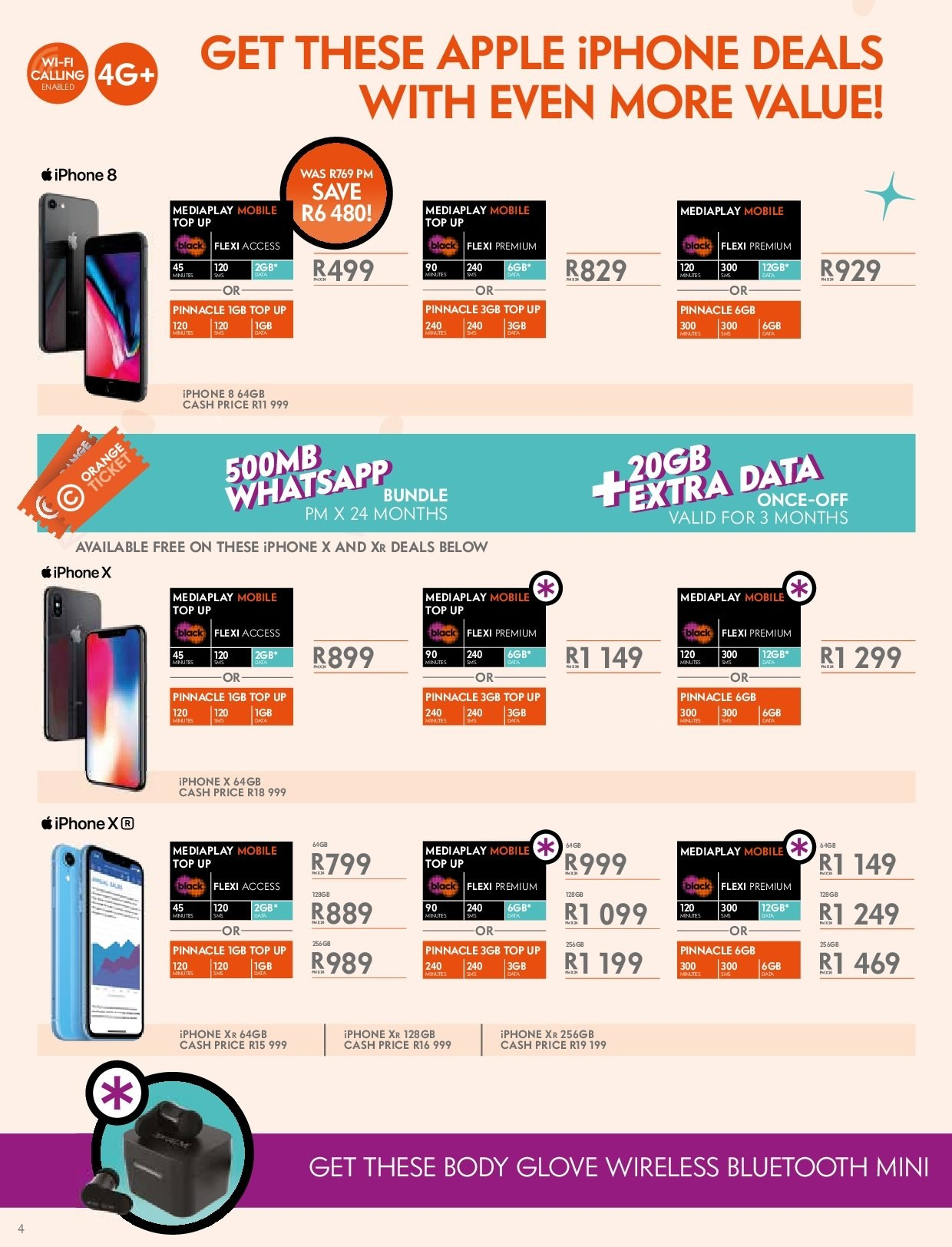 Cell C catalogue  - 03.14.2019 - 04.24.2019. Page 4.