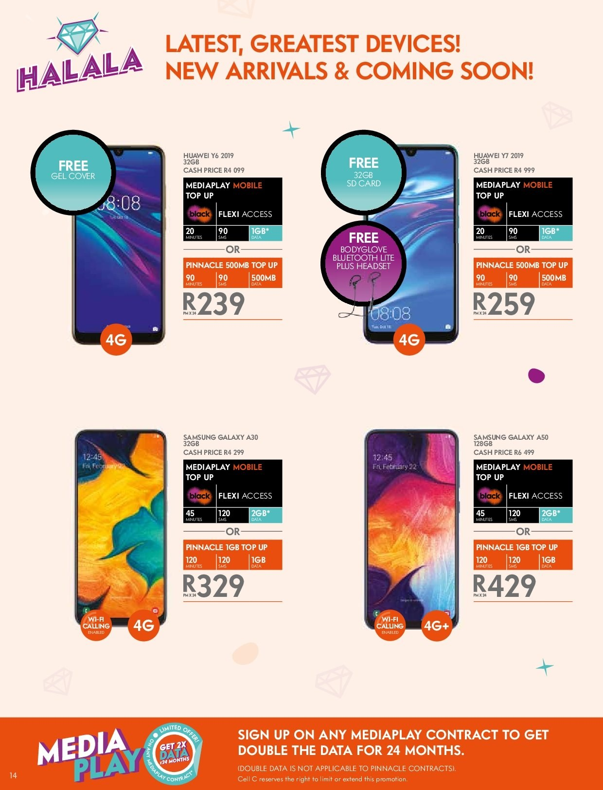 Cell C catalogue  - 03.14.2019 - 04.24.2019. Page 14.