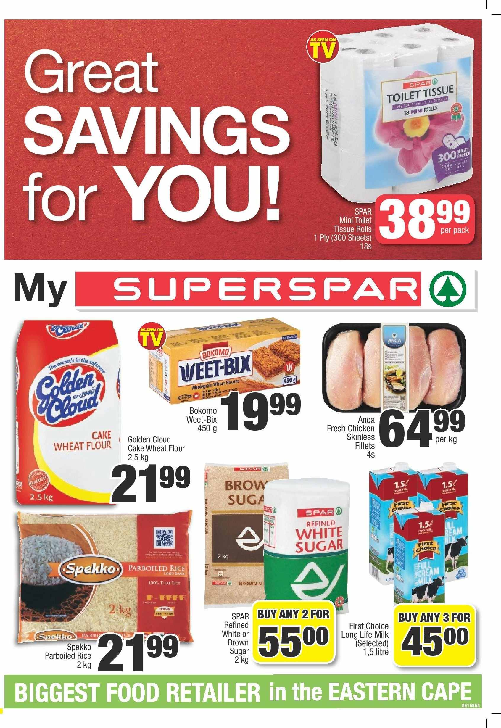 SPAR catalogue  - 03.05.2019 - 03.24.2019. Page 1.