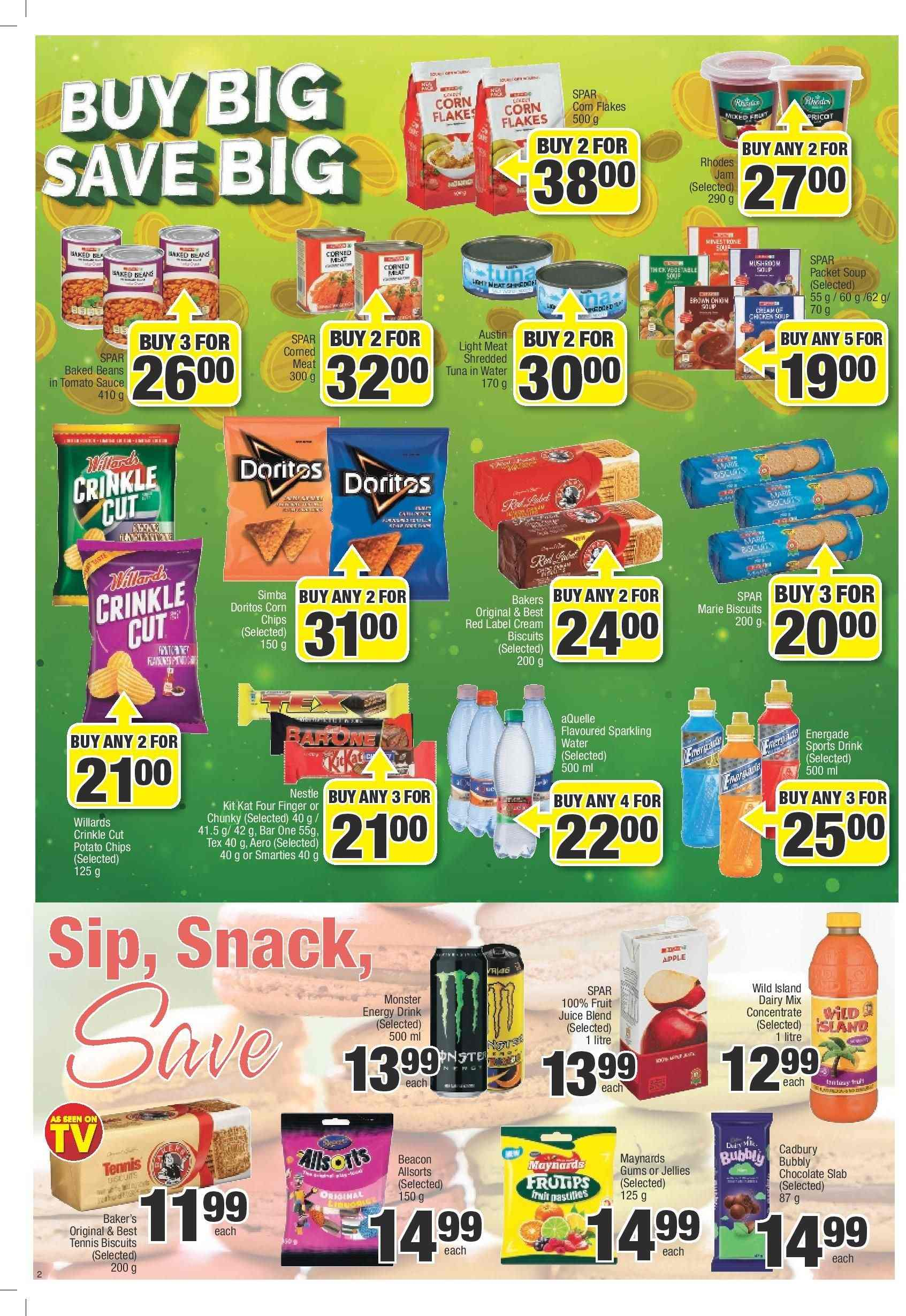SPAR catalogue  - 03.05.2019 - 03.24.2019. Page 2.