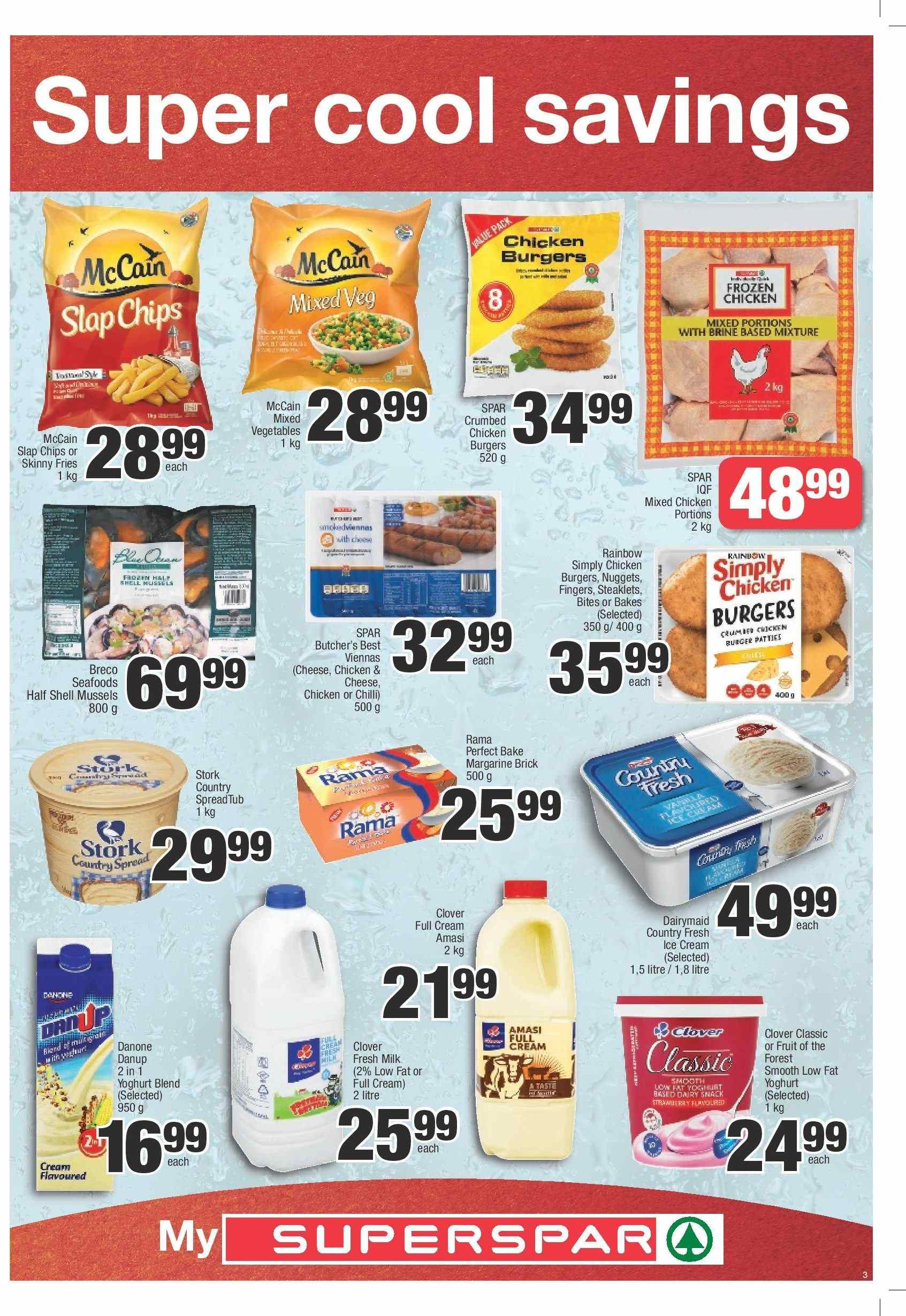 SPAR catalogue  - 03.05.2019 - 03.24.2019. Page 3.