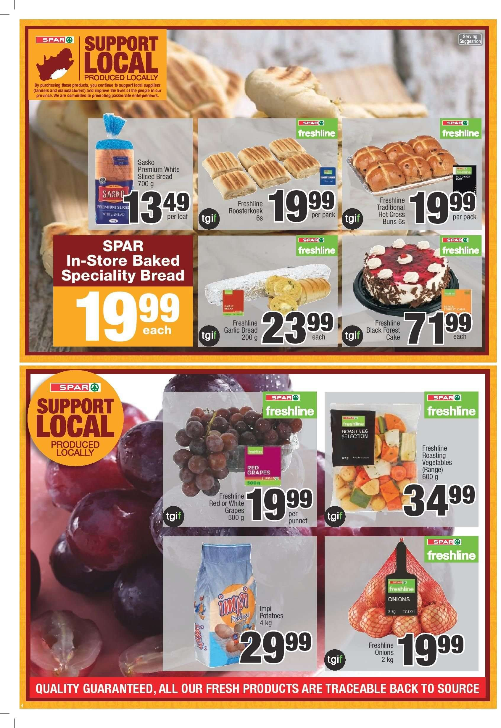 SPAR catalogue  - 03.05.2019 - 03.24.2019. Page 4.