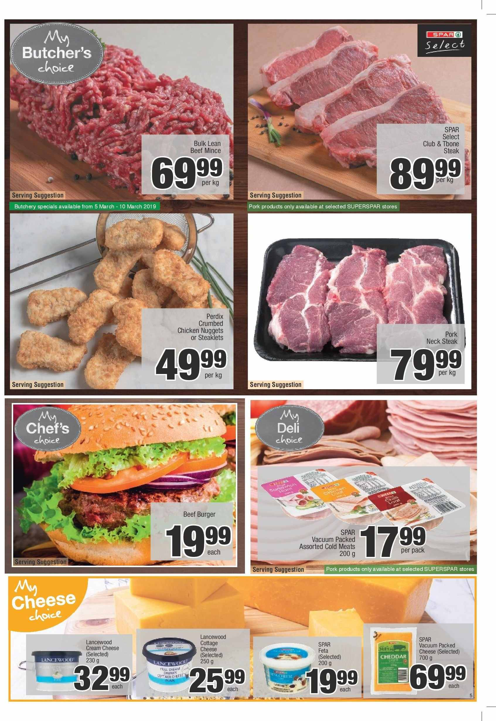 SPAR catalogue  - 03.05.2019 - 03.24.2019. Page 5.