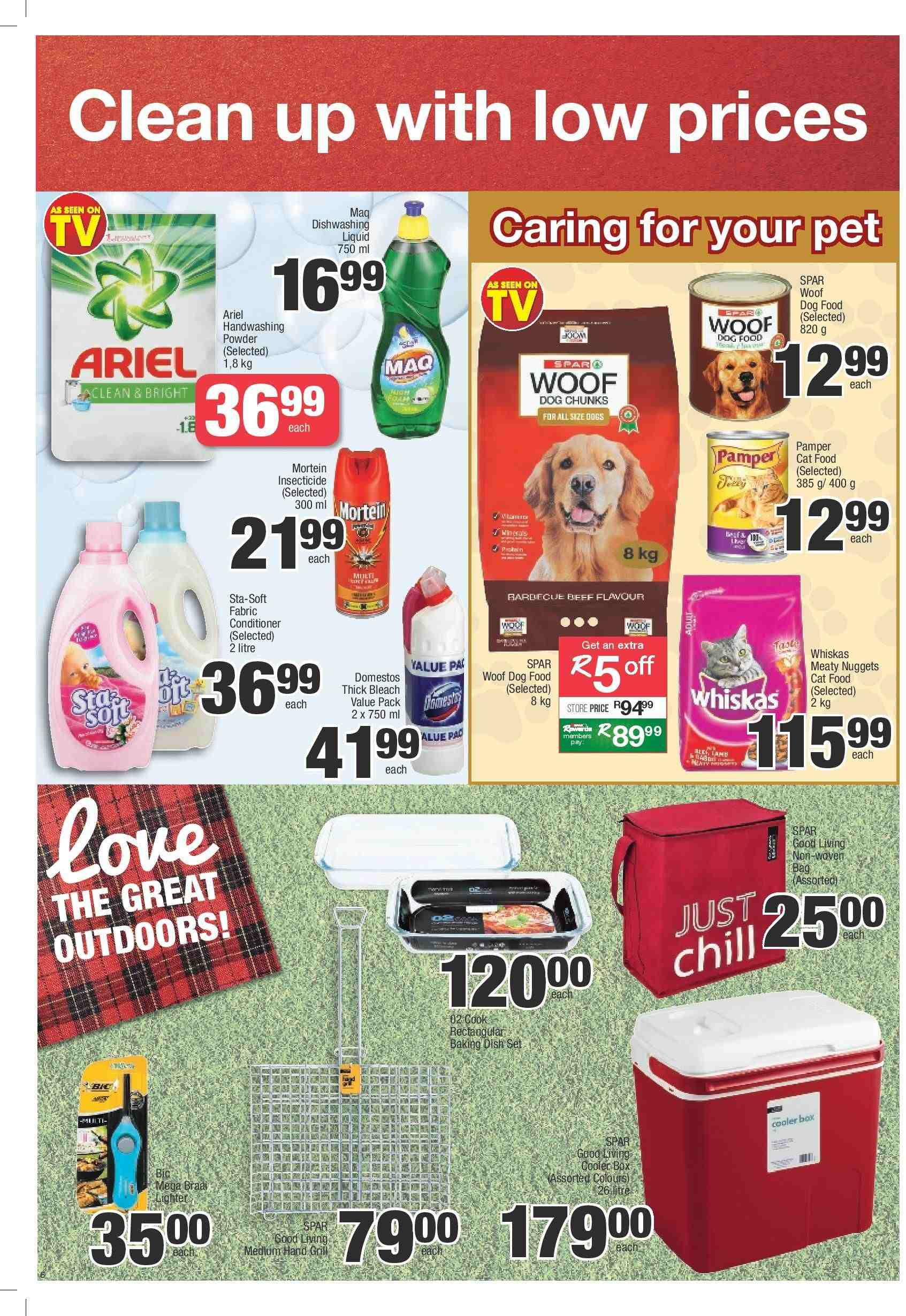 SPAR catalogue  - 03.05.2019 - 03.24.2019. Page 6.