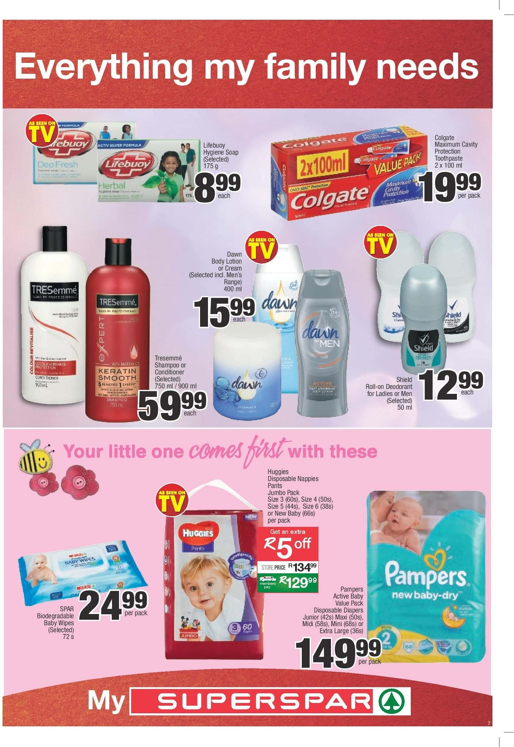SPAR catalogue  - 03.05.2019 - 03.24.2019. Page 7.