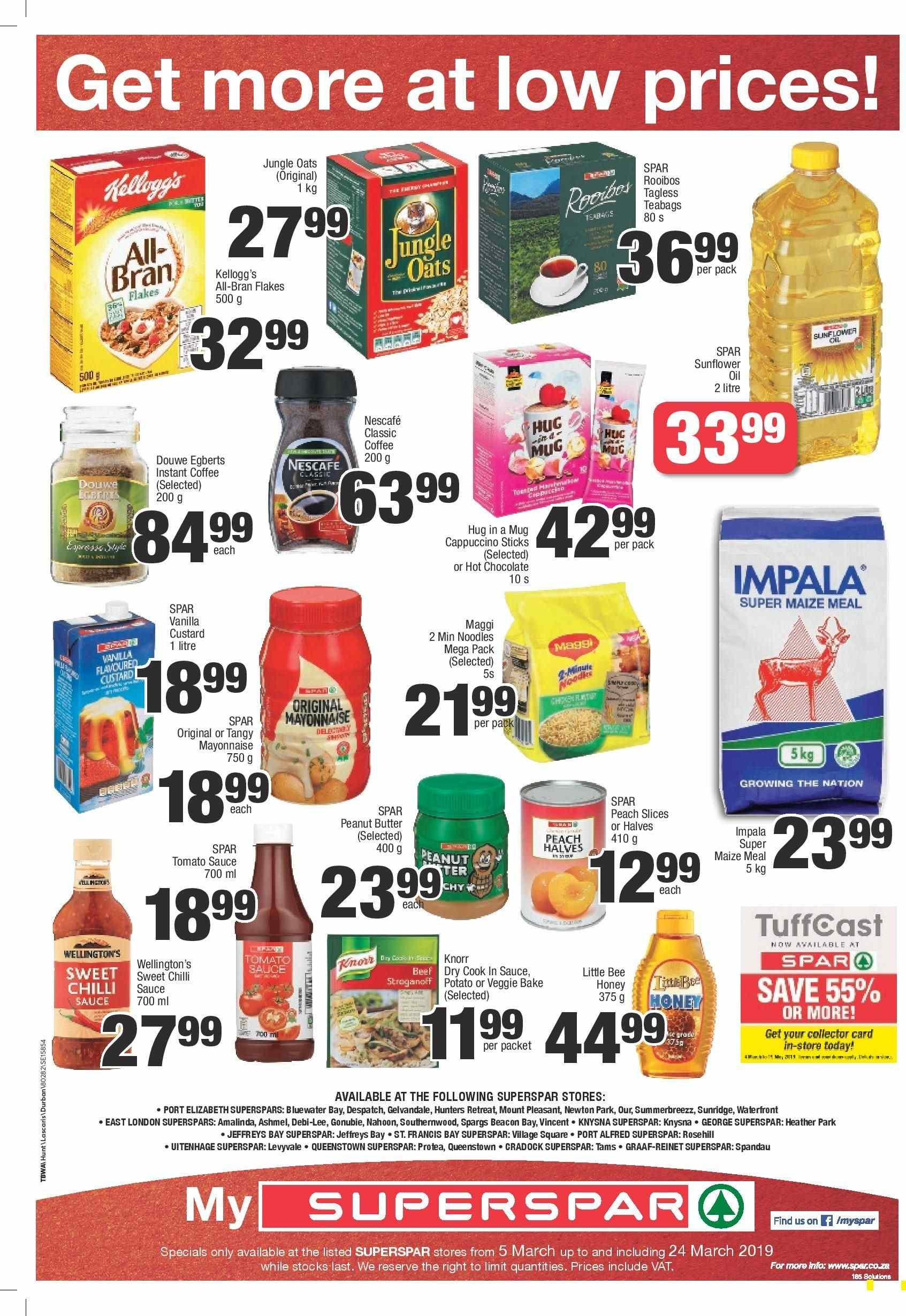 SPAR catalogue  - 03.05.2019 - 03.24.2019. Page 8.