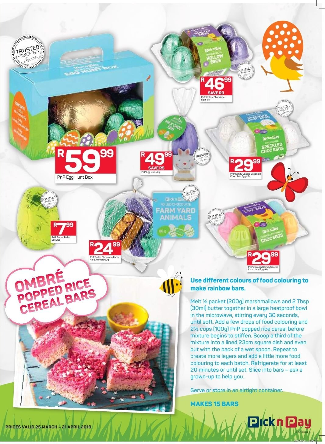 Pick n Pay catalogue  - 03.25.2019 - 04.21.2019. Page 3.