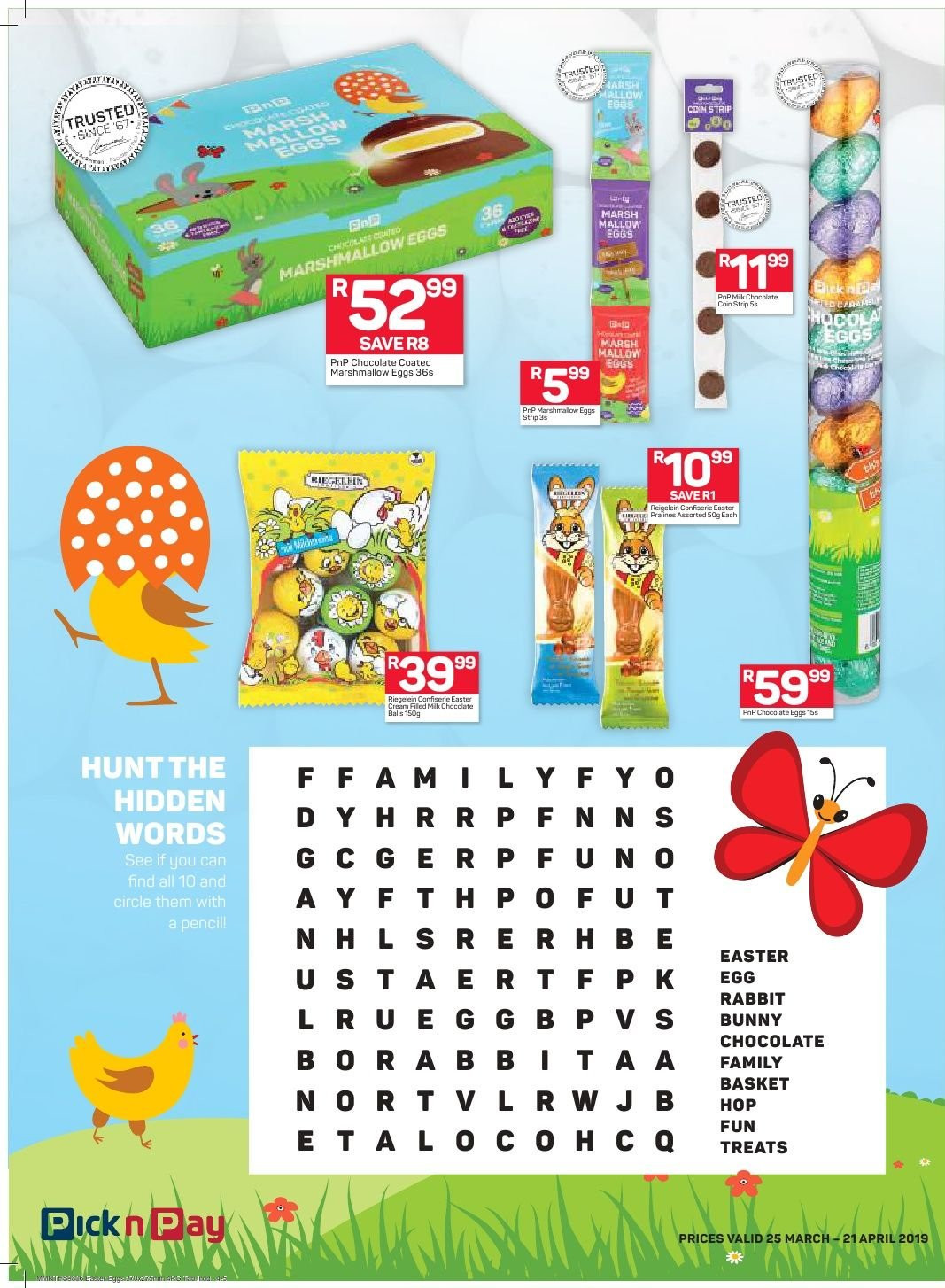 Pick n Pay catalogue  - 03.25.2019 - 04.21.2019. Page 4.