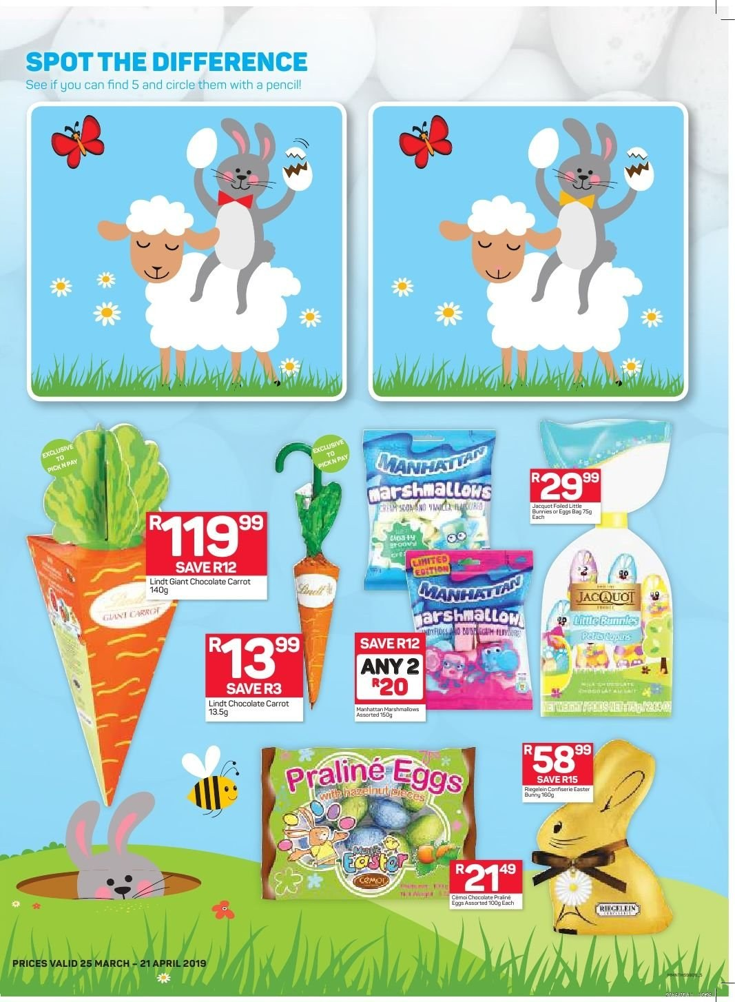 Pick n Pay catalogue  - 03.25.2019 - 04.21.2019. Page 5.