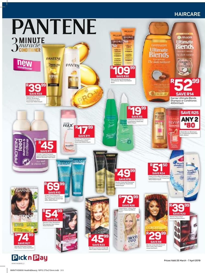 Pick n Pay catalogue  - 03.25.2019 - 04.07.2019. Page 2.