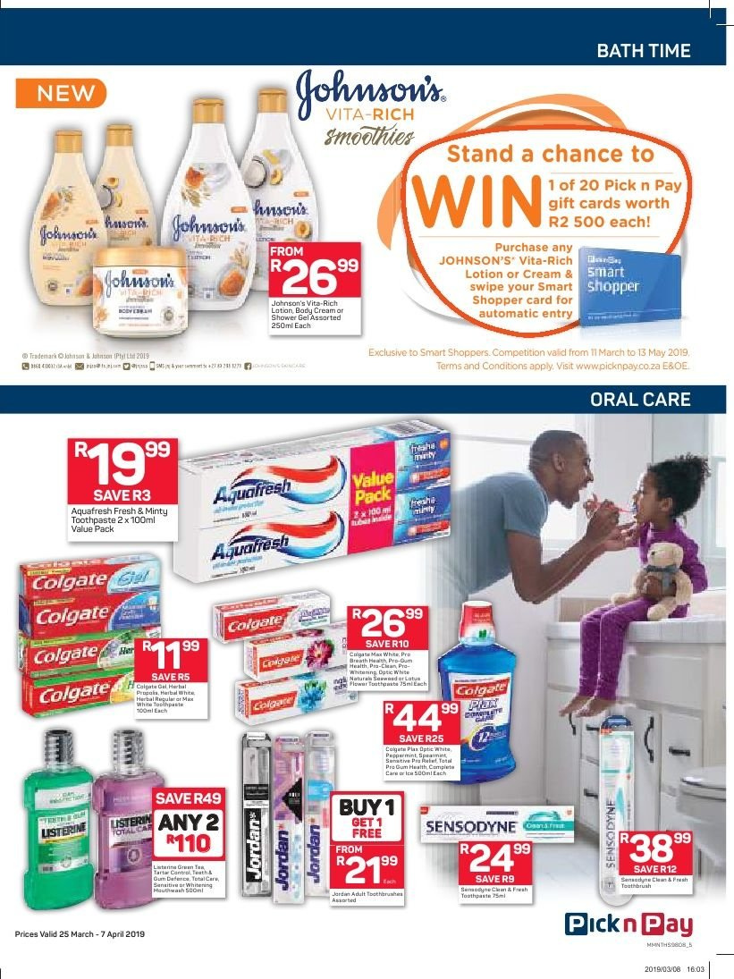 Pick n Pay catalogue  - 03.25.2019 - 04.07.2019. Page 5.