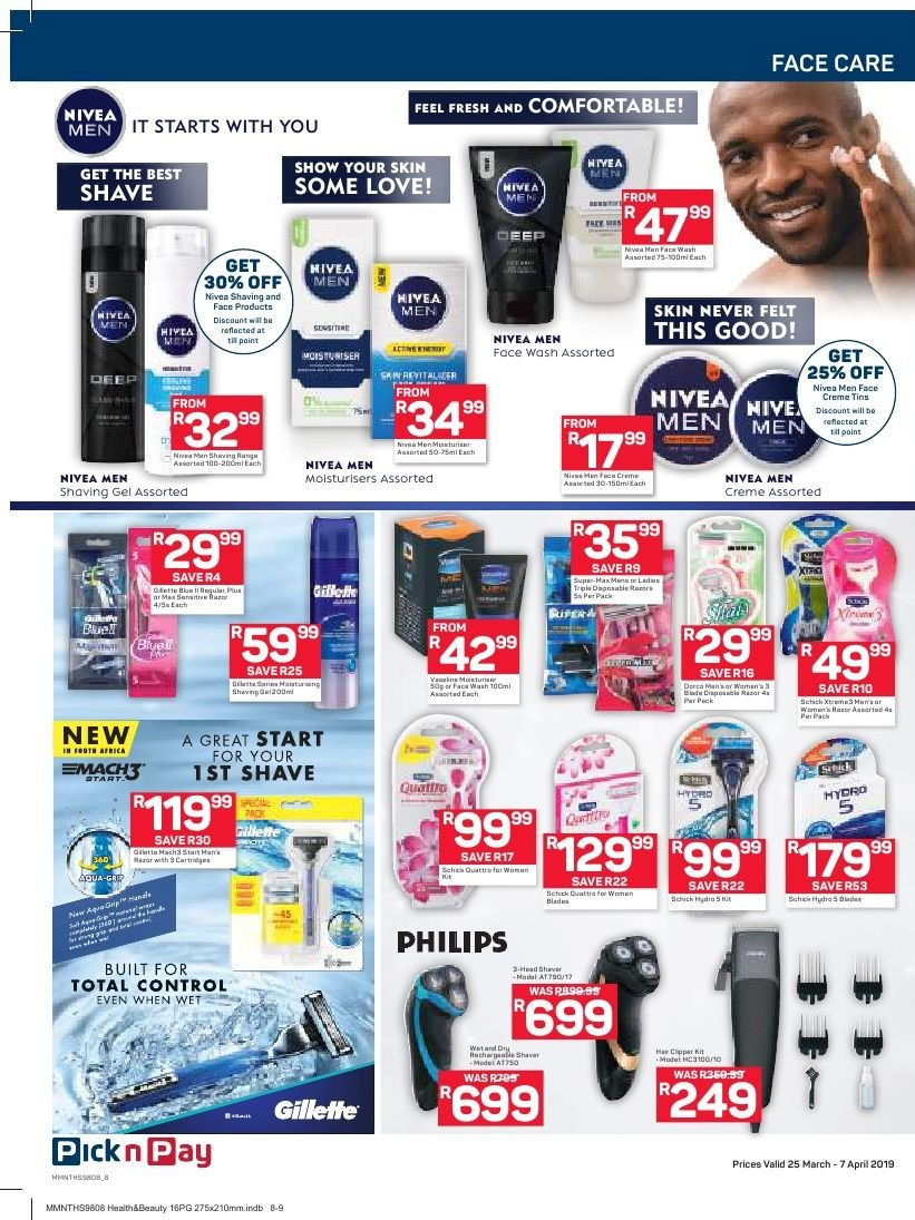 Pick n Pay catalogue  - 03.25.2019 - 04.07.2019. Page 8.