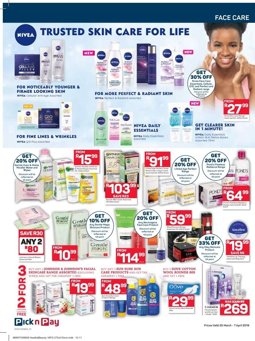 Pick n Pay catalogue  - 03.25.2019 - 04.07.2019. Page 10.