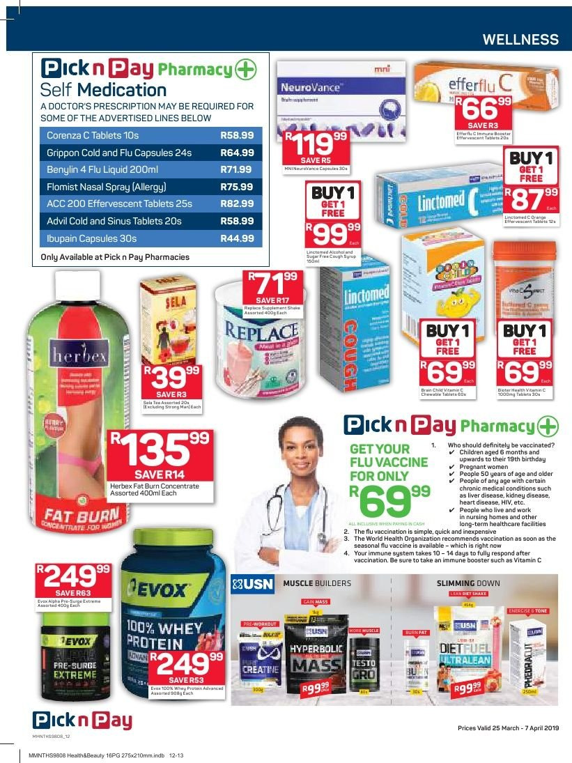 Pick n Pay catalogue  - 03.25.2019 - 04.07.2019. Page 12.