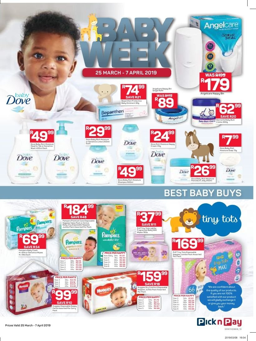 Pick n Pay catalogue  - 03.25.2019 - 04.07.2019. Page 13.