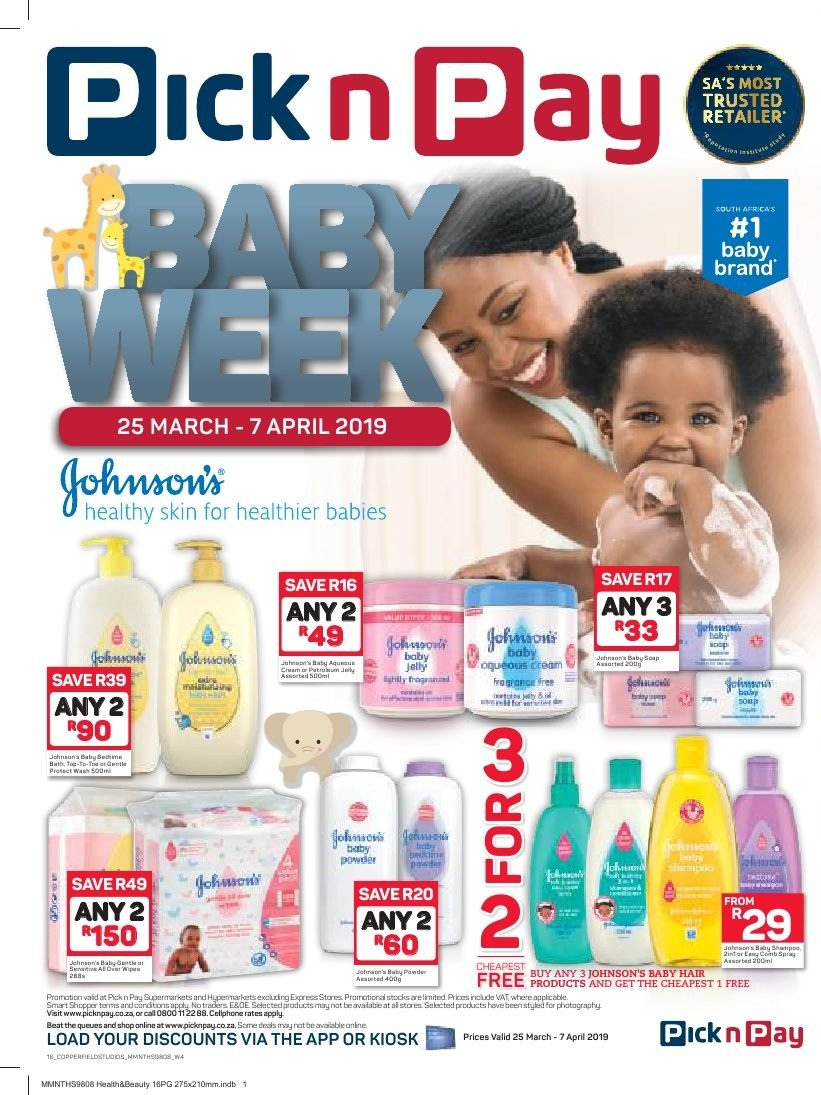 Pick n Pay catalogue  - 03.25.2019 - 04.07.2019. Page 16.