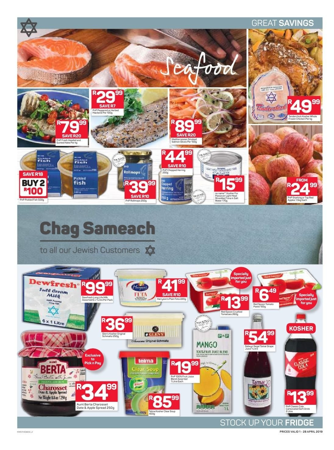 Pick n Pay catalogue  - 04.01.2019 - 04.28.2019. Page 2.