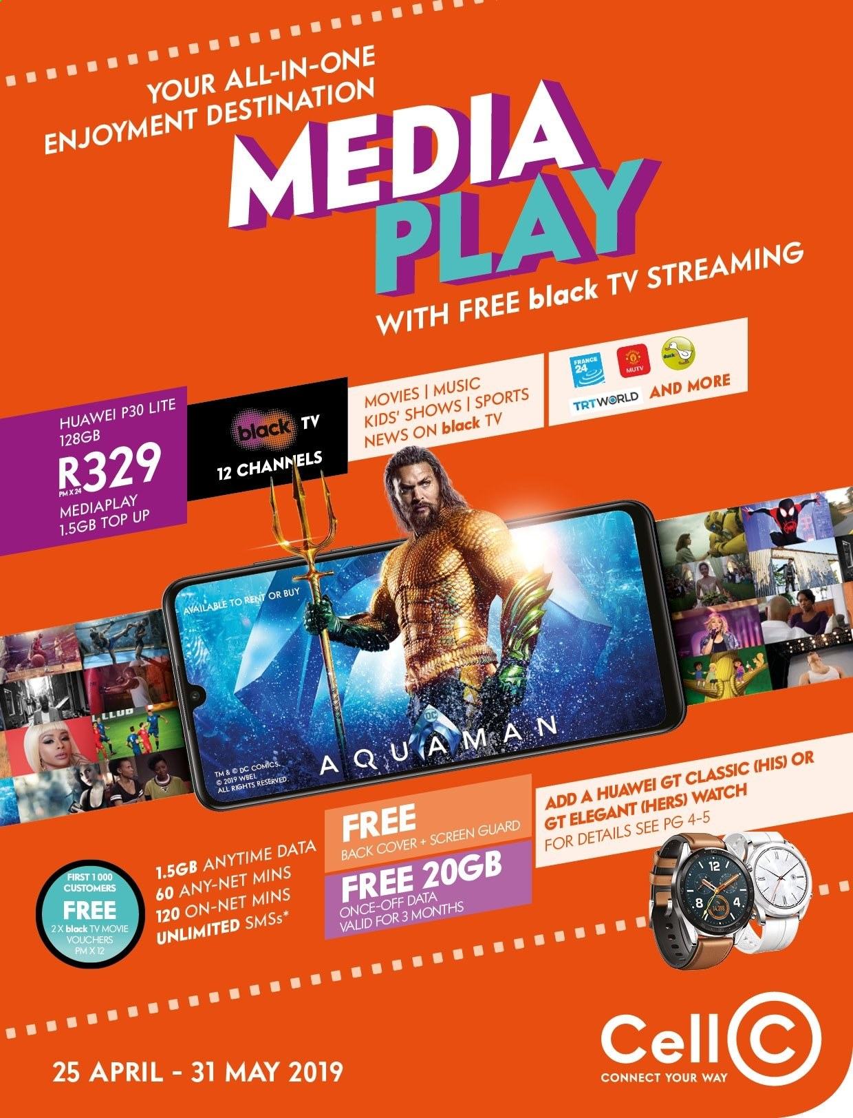 Cell C catalogue  - 04.25.2019 - 05.31.2019. Page 1.