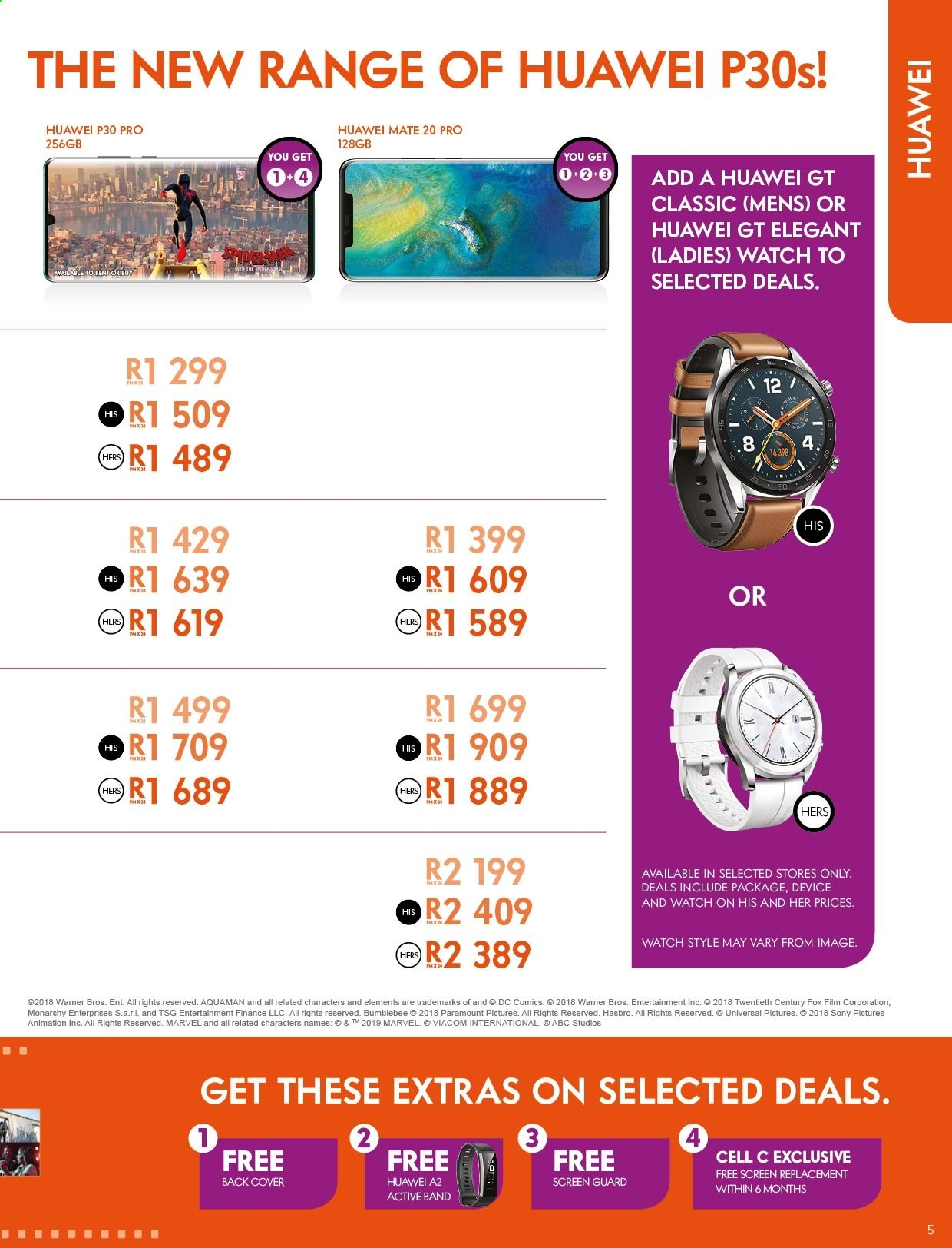 Cell C catalogue  - 04.25.2019 - 05.31.2019. Page 5.