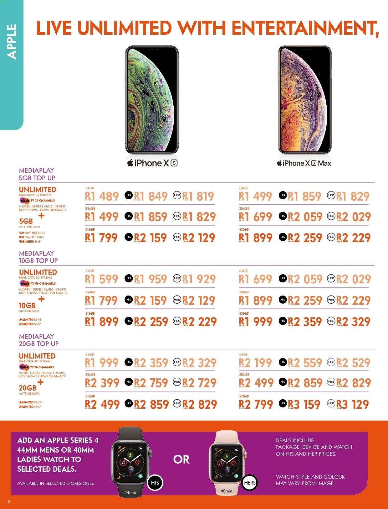 Cell C catalogue  - 04.25.2019 - 05.31.2019. Page 8.