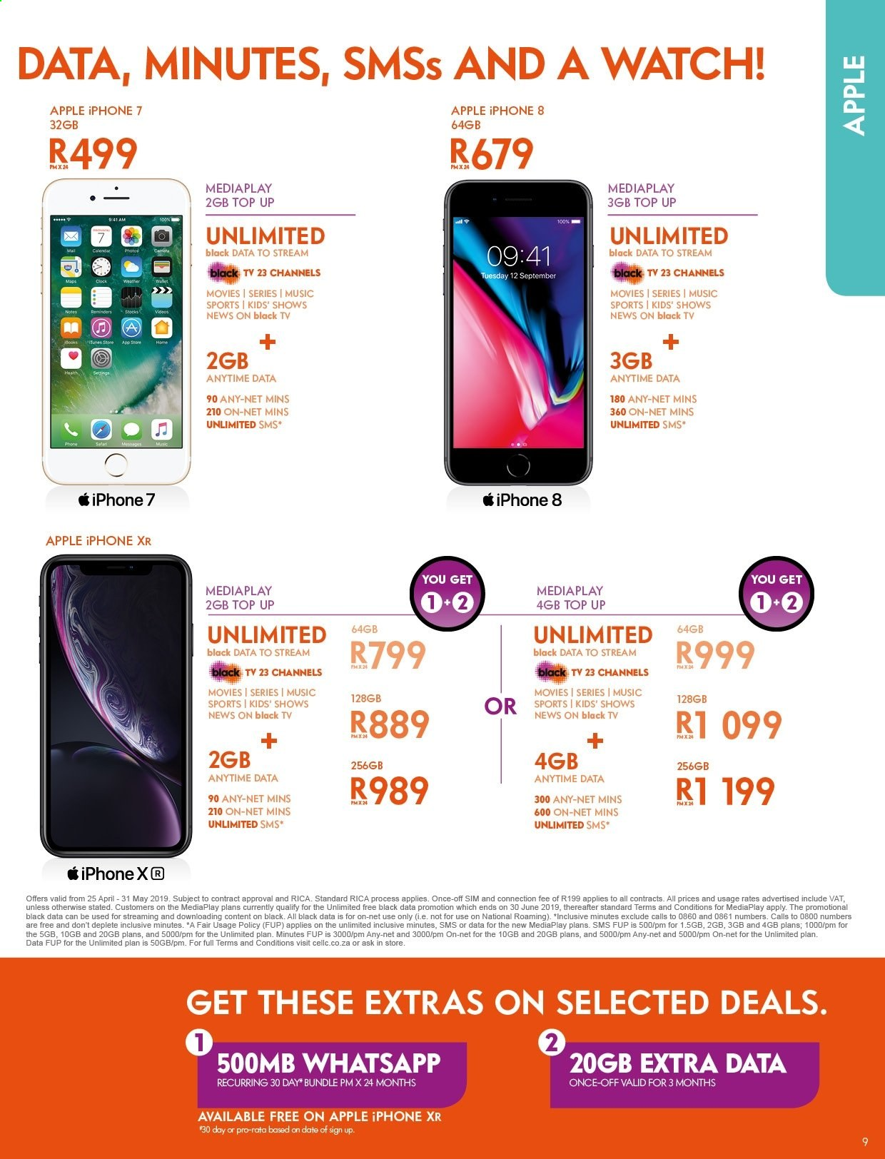 Cell C catalogue  - 04.25.2019 - 05.31.2019. Page 9.