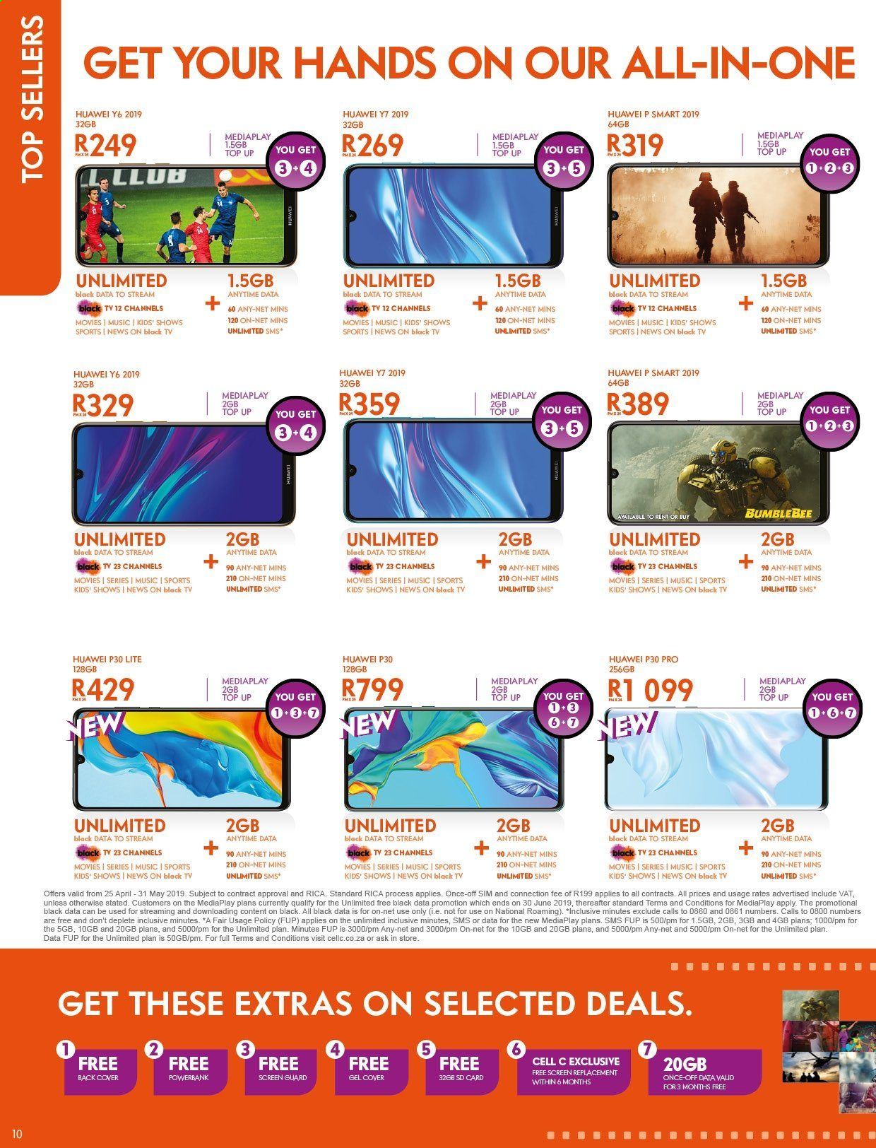 Cell C catalogue  - 04.25.2019 - 05.31.2019. Page 10.