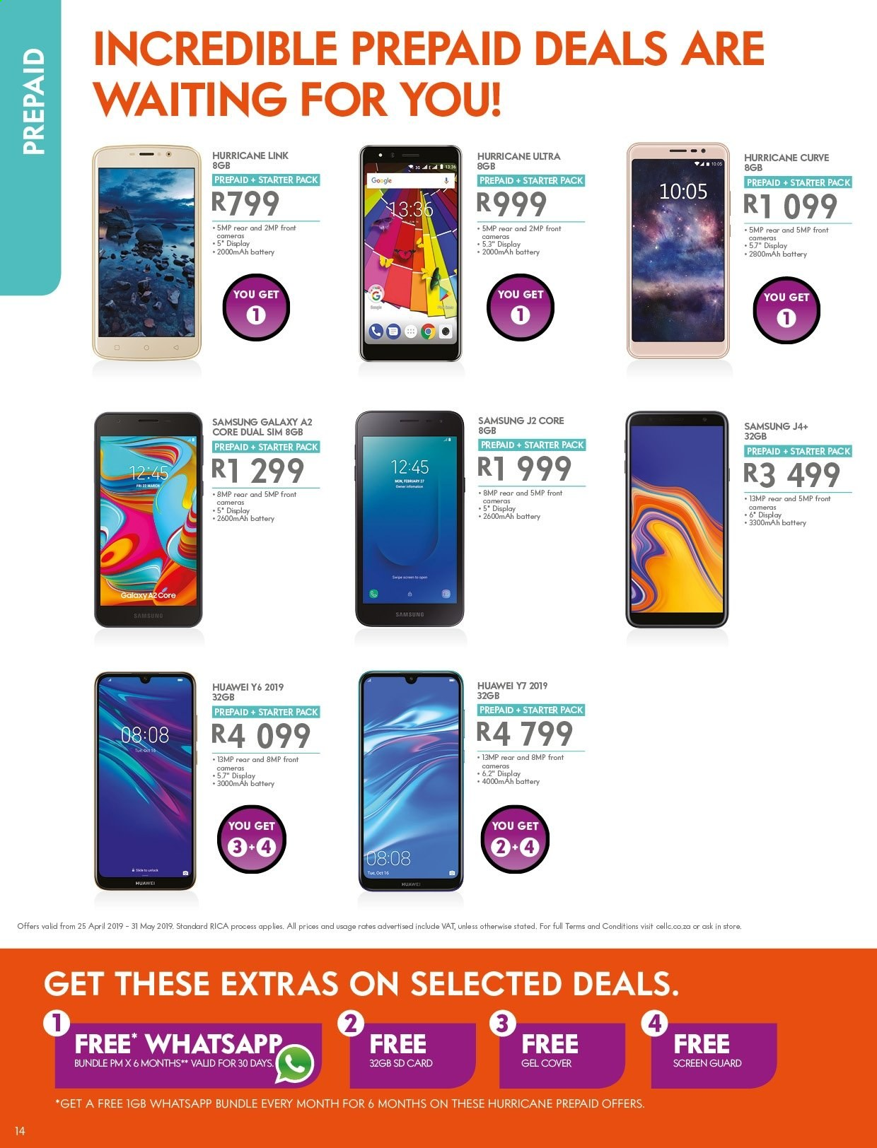 Cell C catalogue  - 04.25.2019 - 05.31.2019. Page 14.